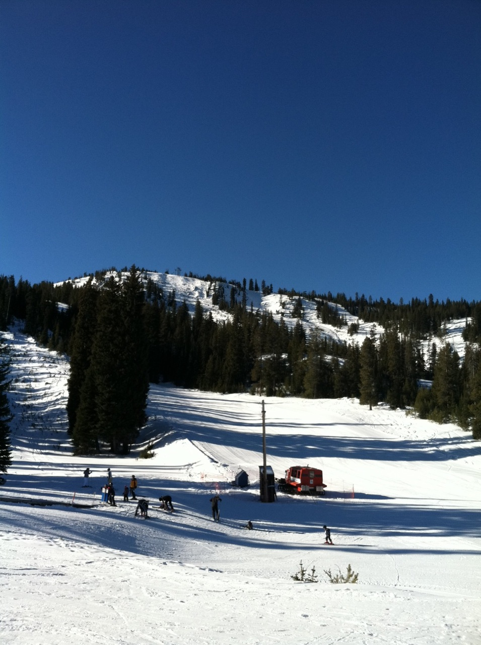 Vacation time looking for snow the spokesman review for Anthony lakes cabin rentals