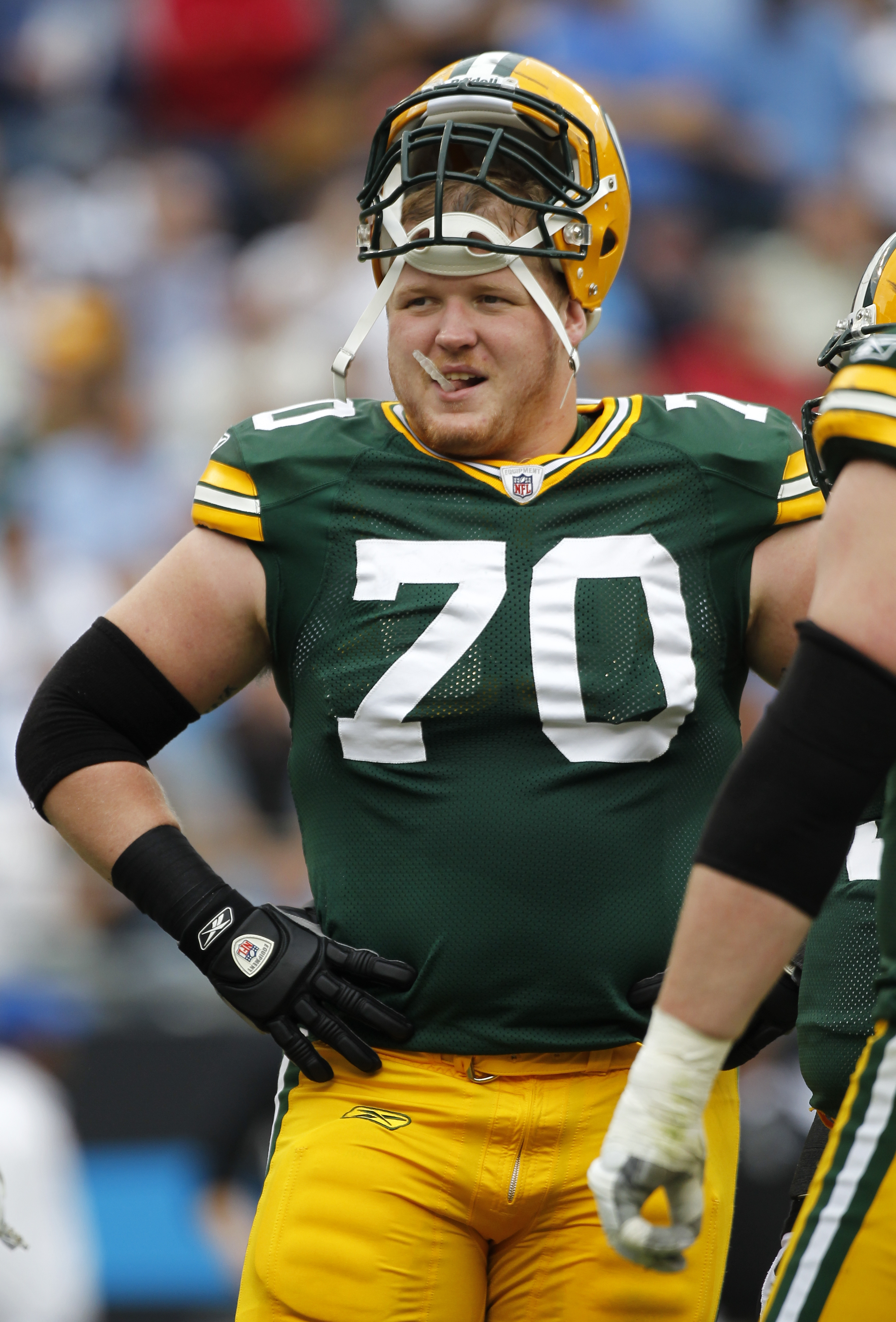 Packers lineman Lang adjusts to challenging times