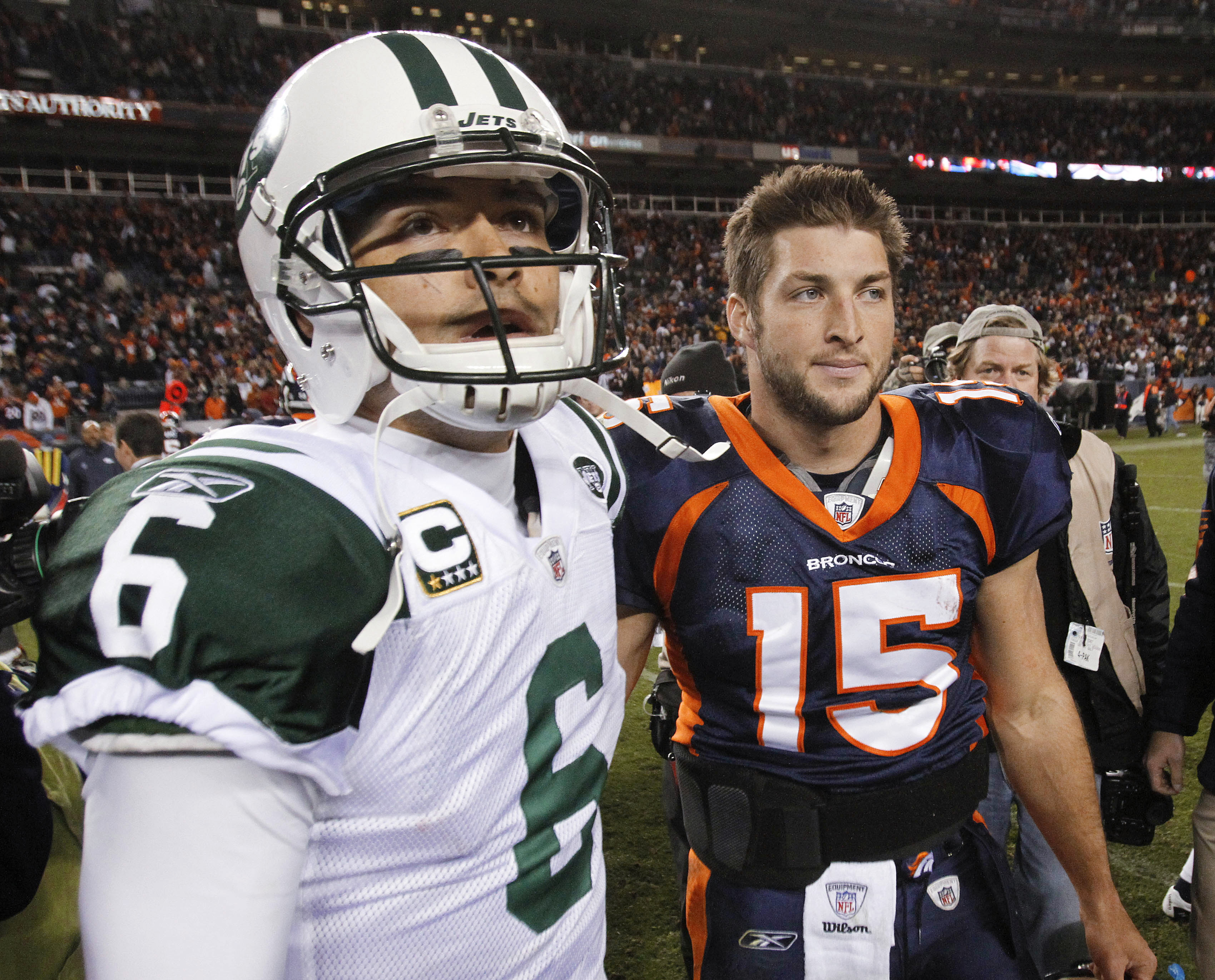 check out 03cfa aadf6 Tebow traded to New York Jets | The Spokesman-Review