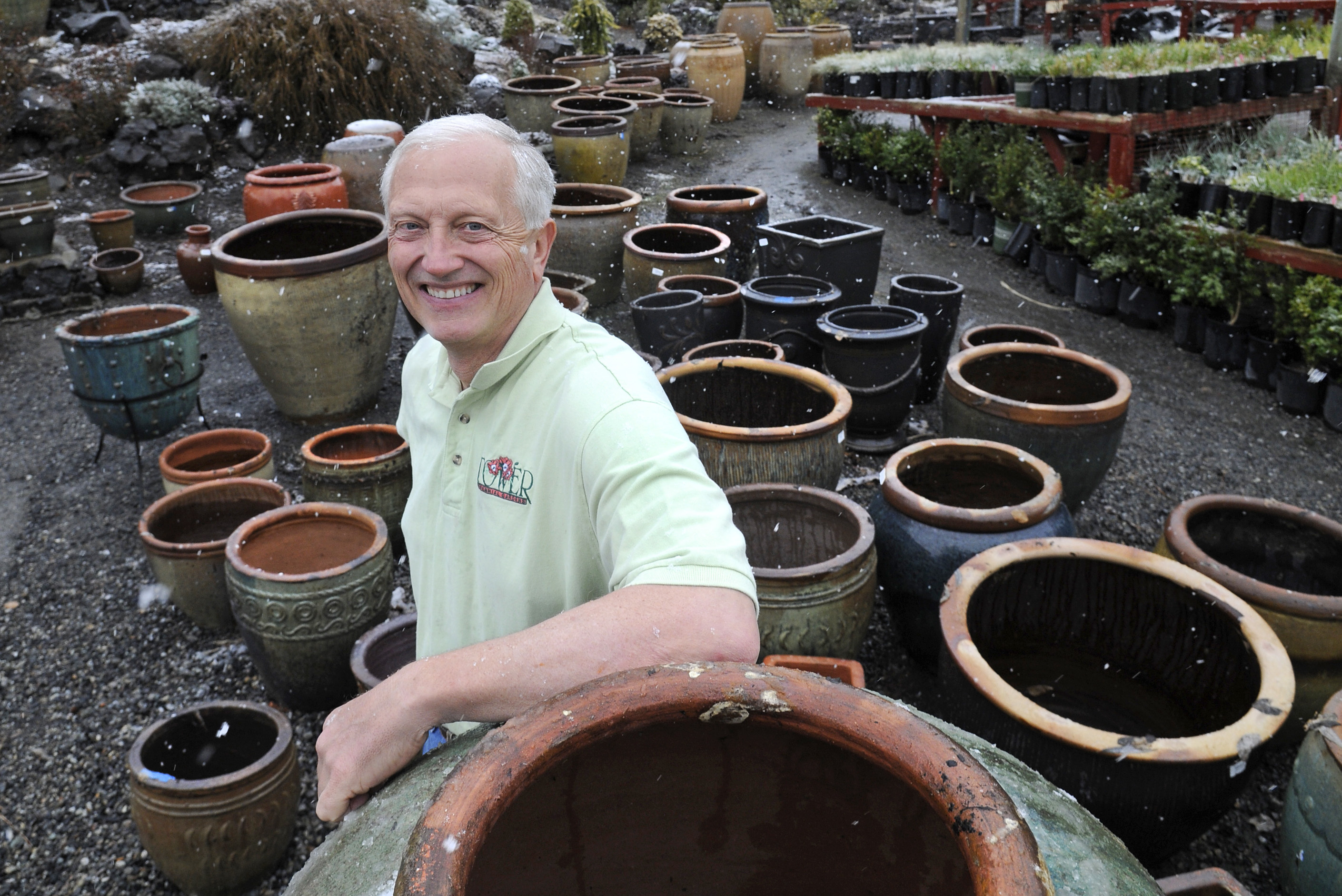 Alan Tower Left The Medical Profession To Bring Life To Tower Perennial  Gardens. (Dan