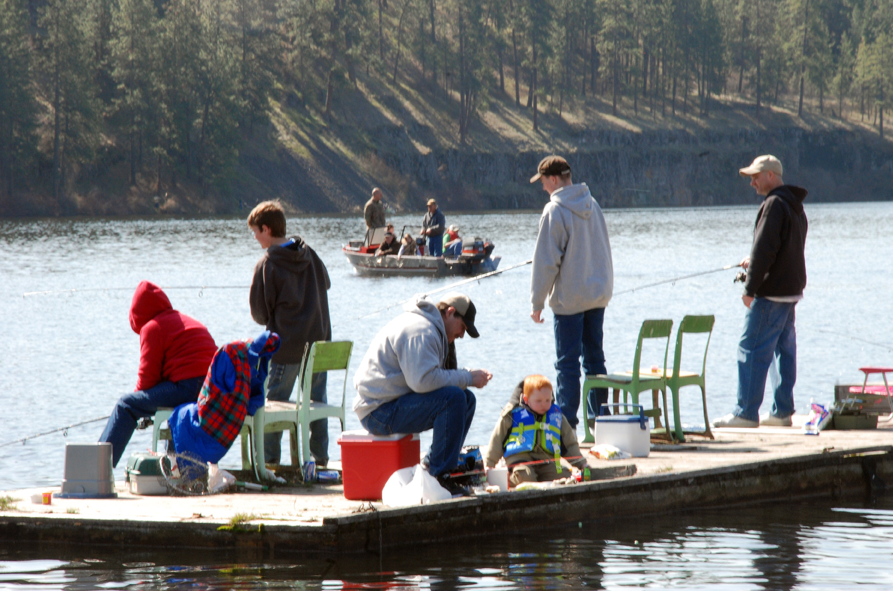 Lowland lakes stocked with trout offerings the spokesman for Washington fishing season