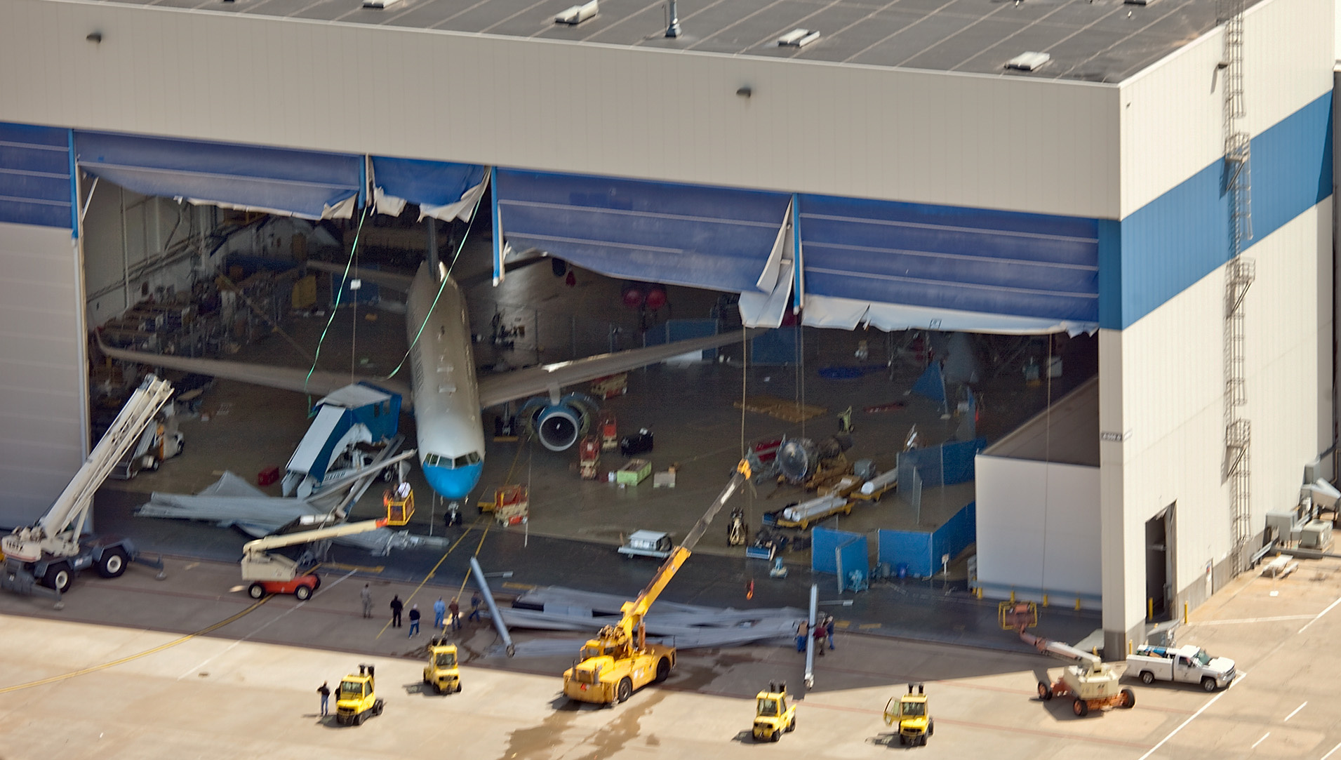 Tornado Damage Puts Aircraft Industry On Hold The