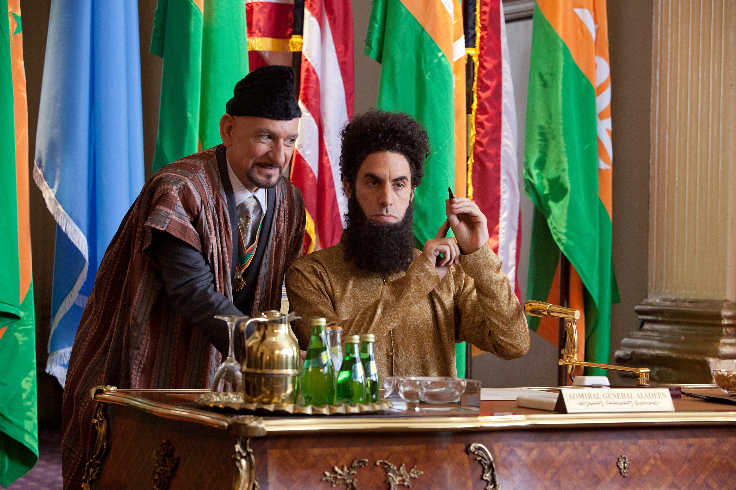 Dictator' pushes edgy absurdity past the envelope   The Spokesman-Review