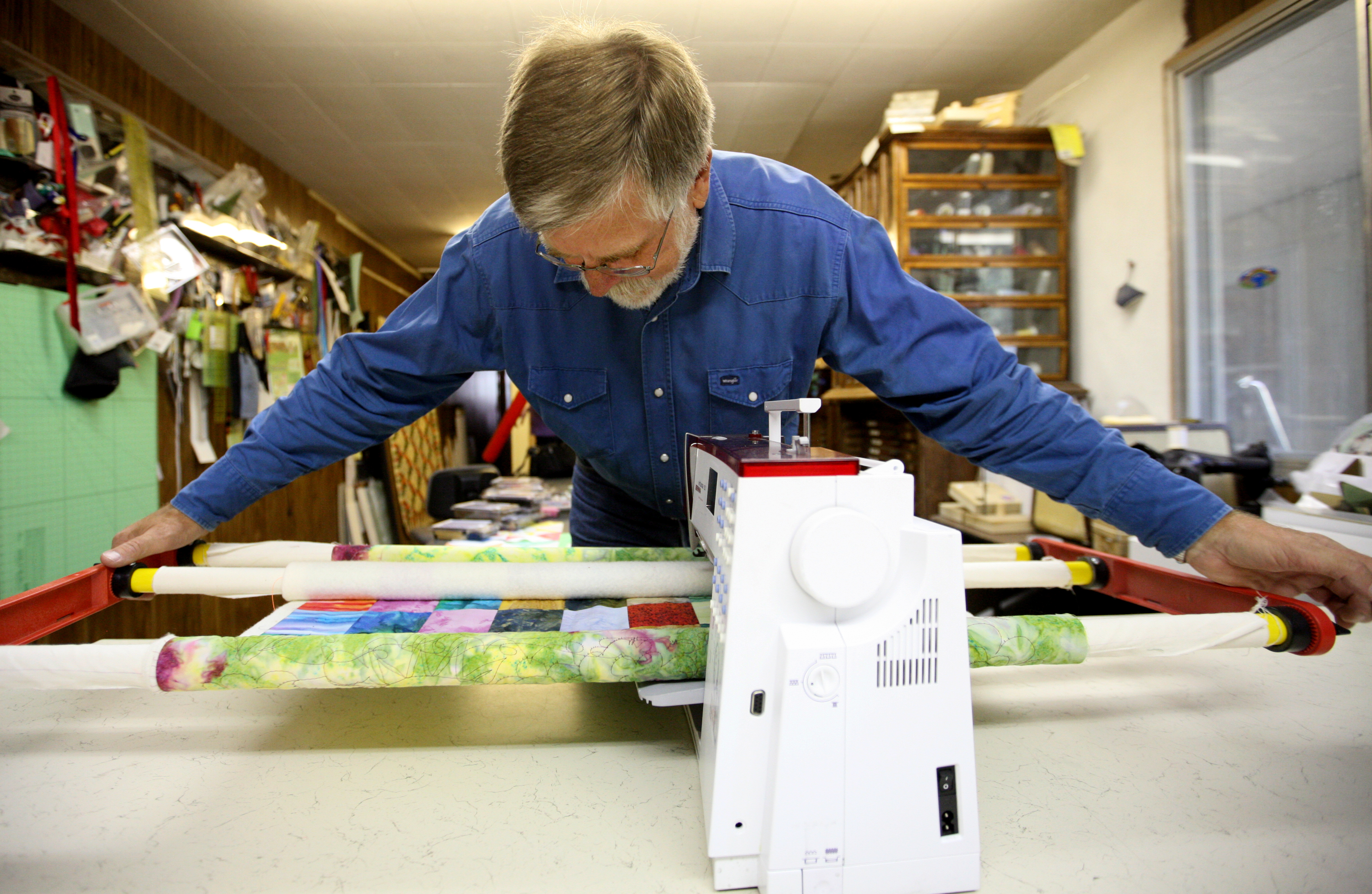 Quilts Surprising Fit For Engineer The Spokesman Review