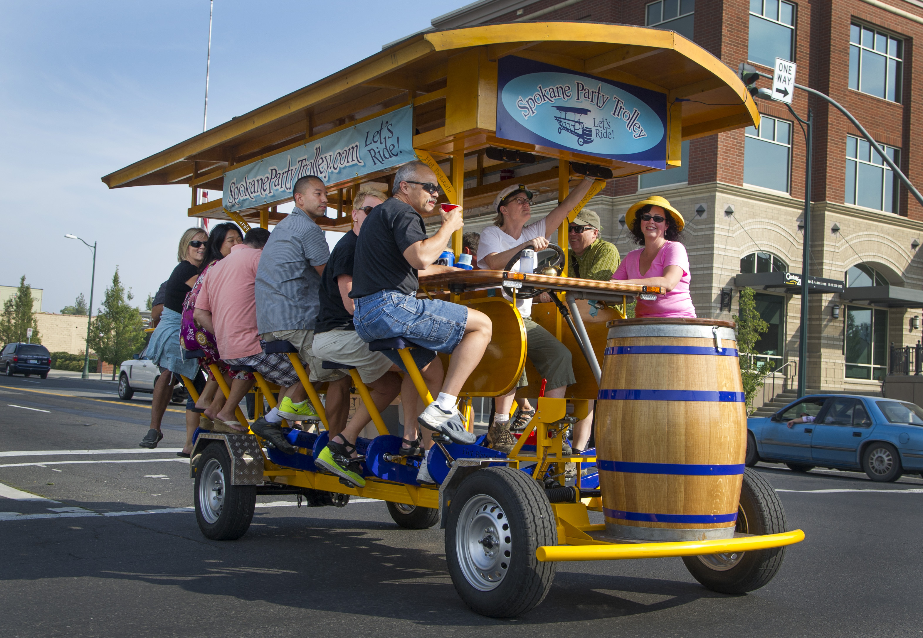 Spokane Party Trolley embraces drinking and riding | The Spokesman ...