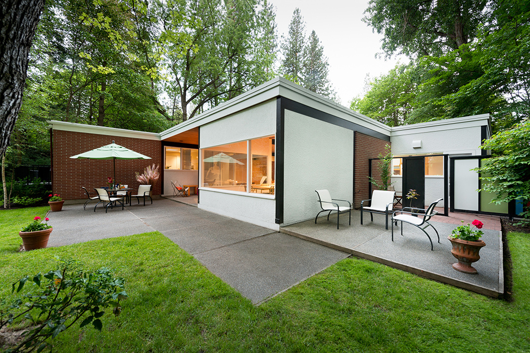 the ferris family home on the south hill showcases 1950s modern residential architecture the house - Modern Homes Tour