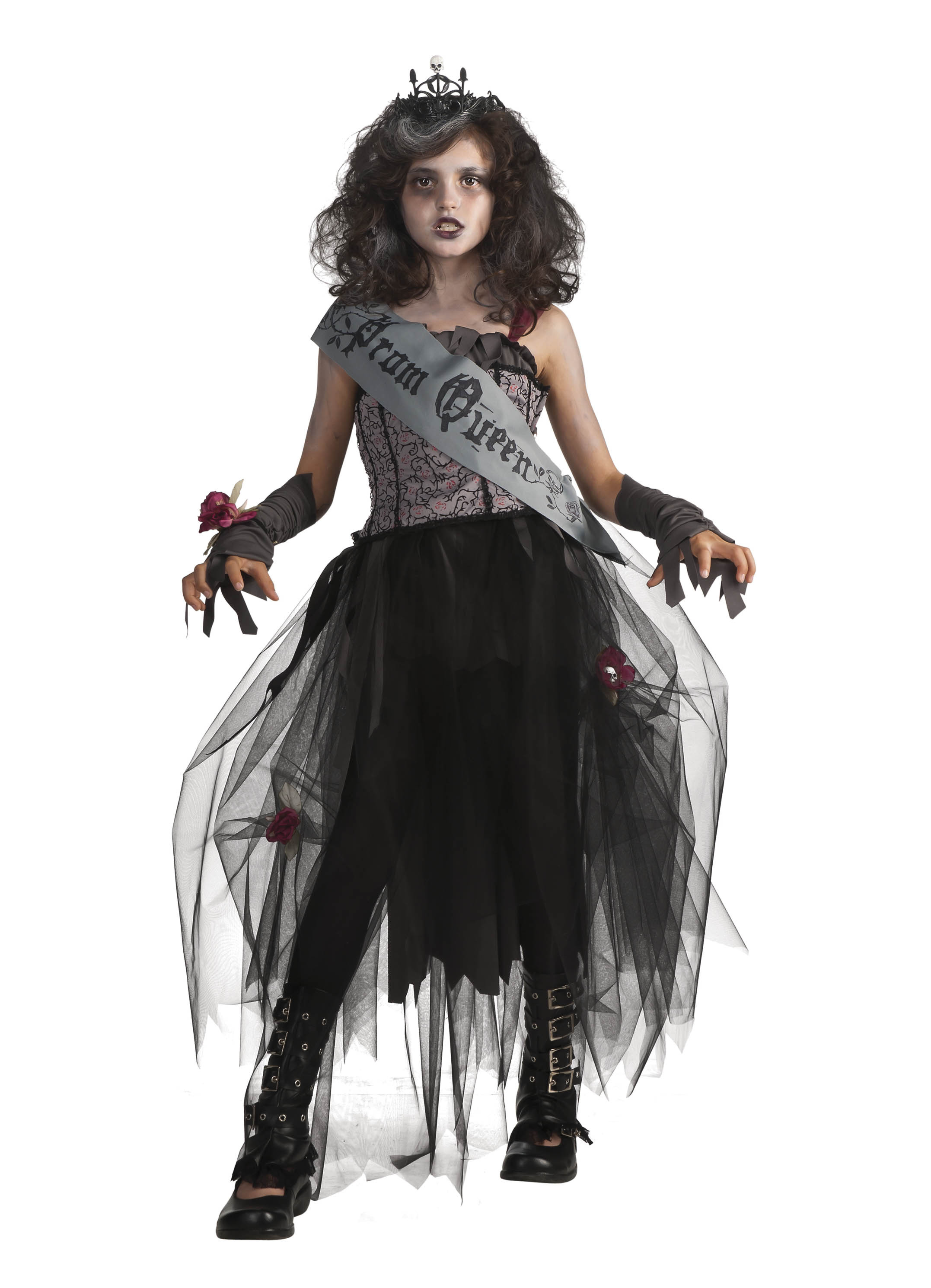 this product image released by part city shows a girl wearing a zombie queen costume
