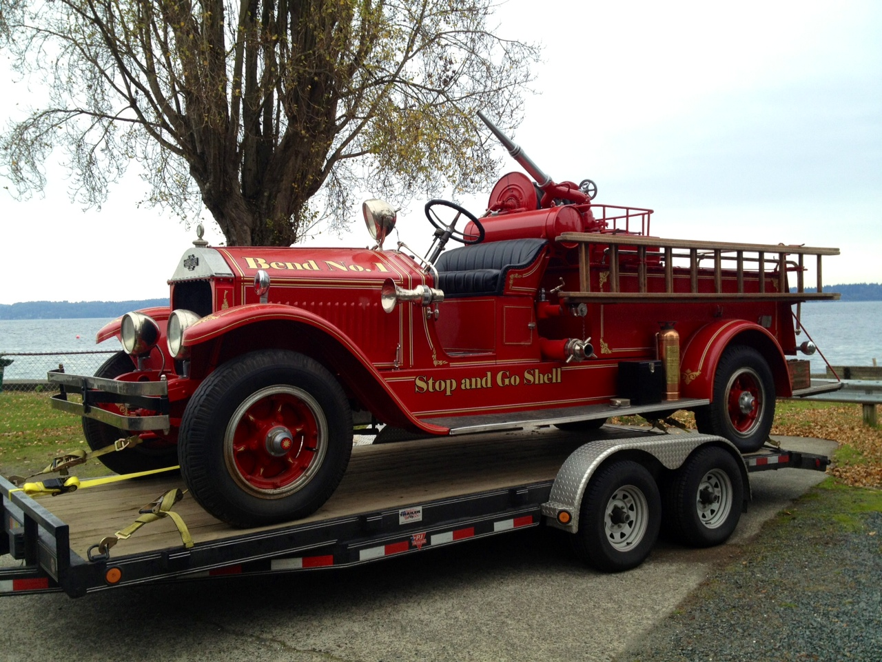 Rockers fire engine a boon to museum the spokesman review publicscrutiny Choice Image