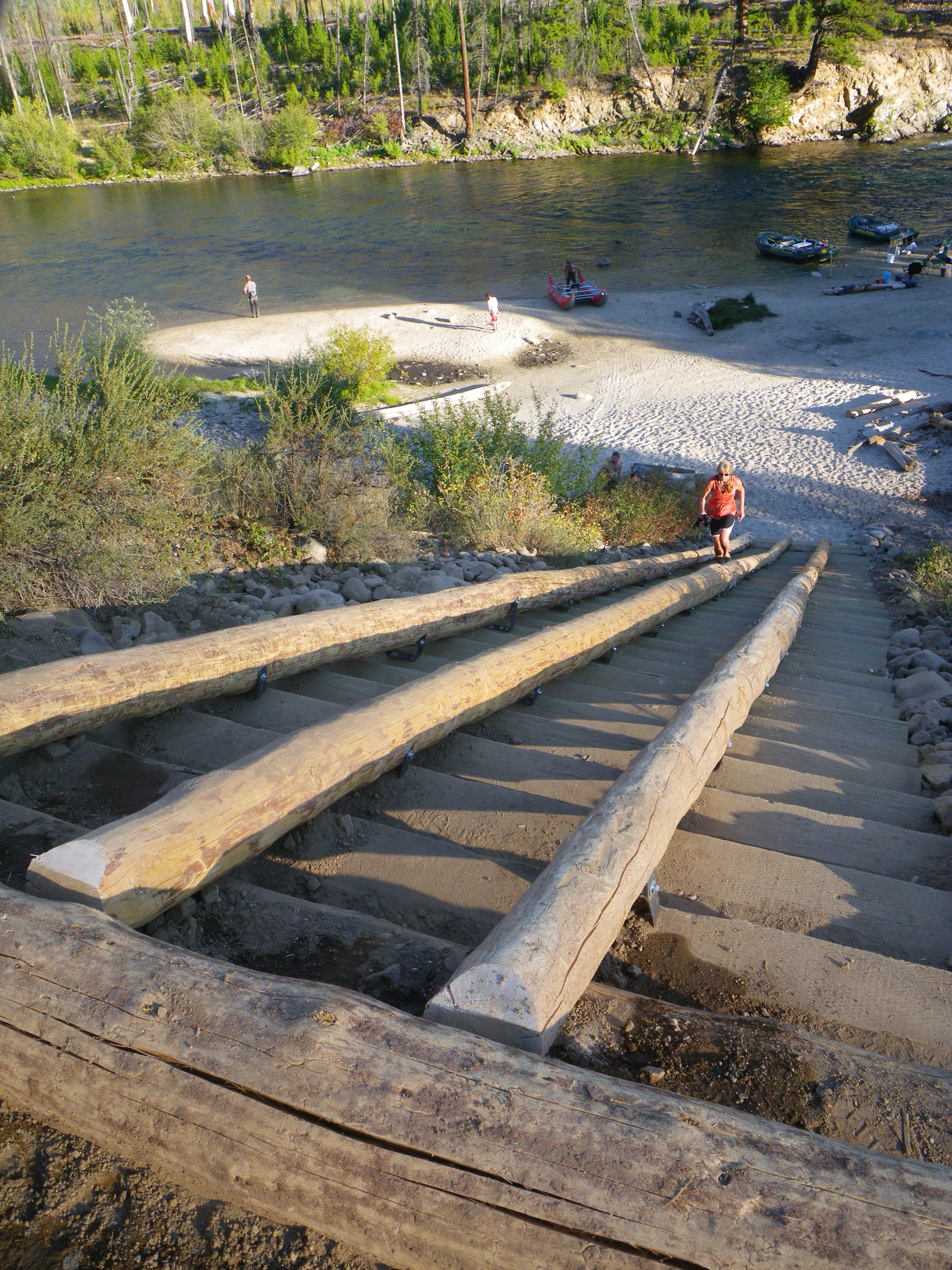 Indian Creek Boat Ramp Revamped On Middle Fork Salmon
