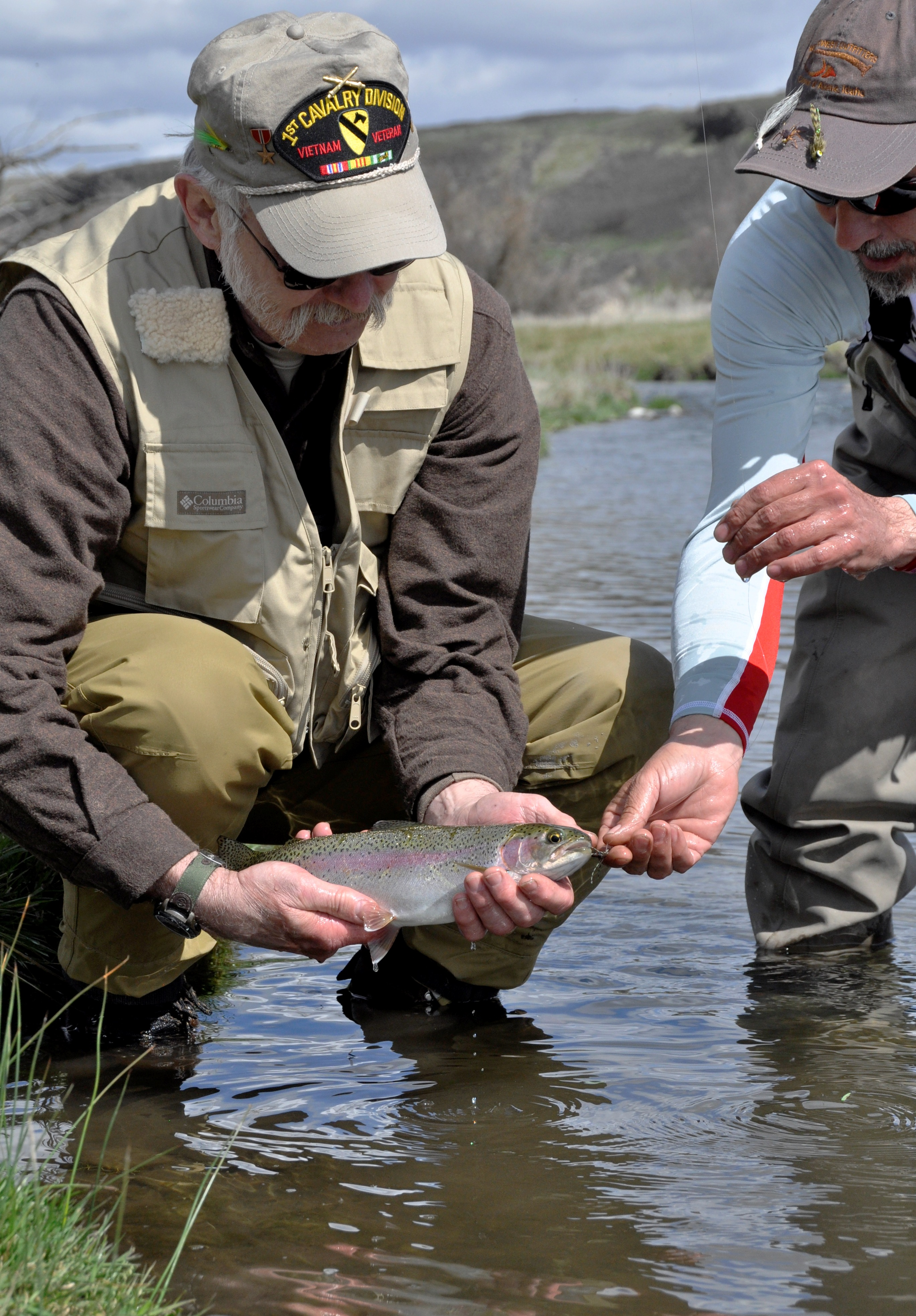 Trout tv to feature project healing waters on crab creek for Healing waters fly fishing