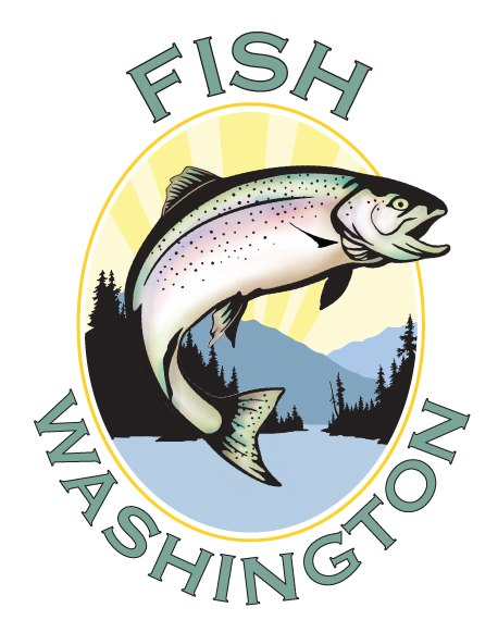 Free sticker show your pride in washington fishing the for Department of fish and wildlife washington