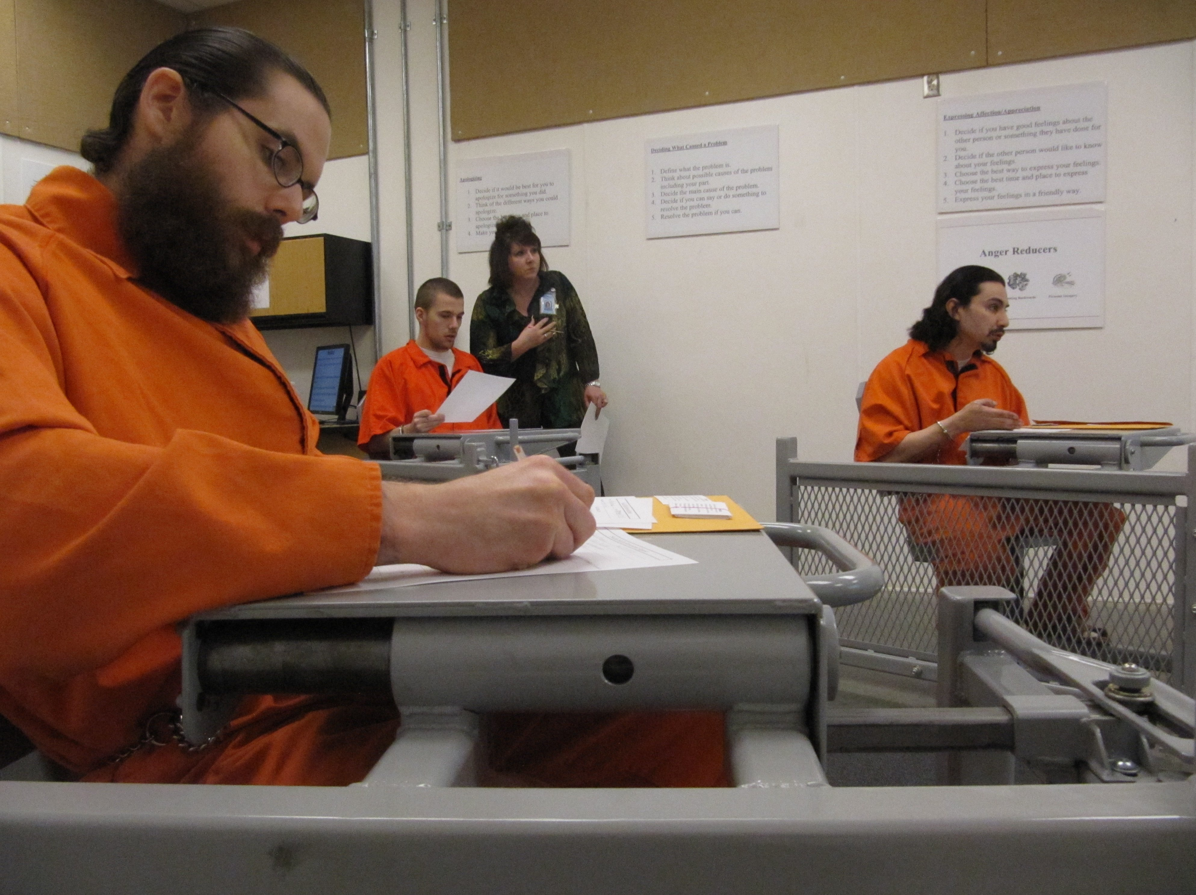 Prison program reaches out to segregated inmates | The Spokesman-Review