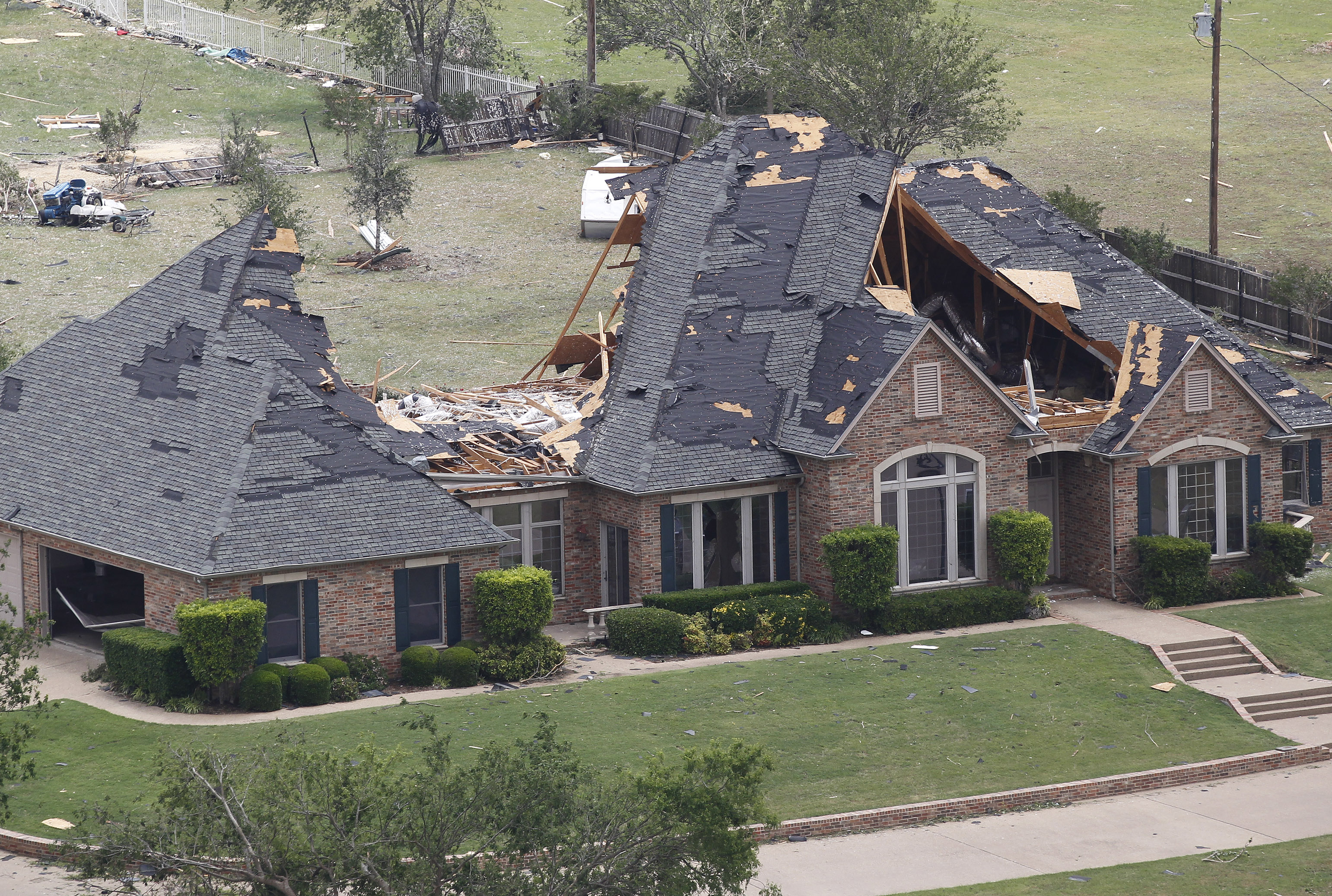 Groovy Habitat Homes Hit By Tornadoes The Spokesman Review Home Interior And Landscaping Oversignezvosmurscom