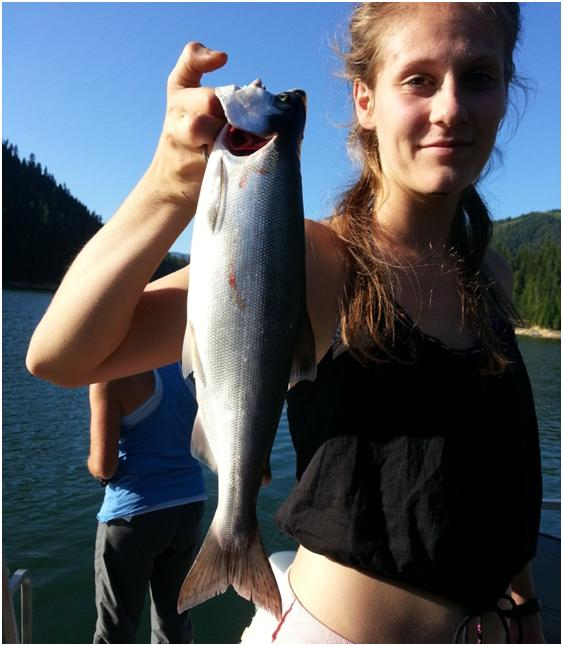 Game on for big kokanee at dworshak reservoir the for Dworshak reservoir fishing