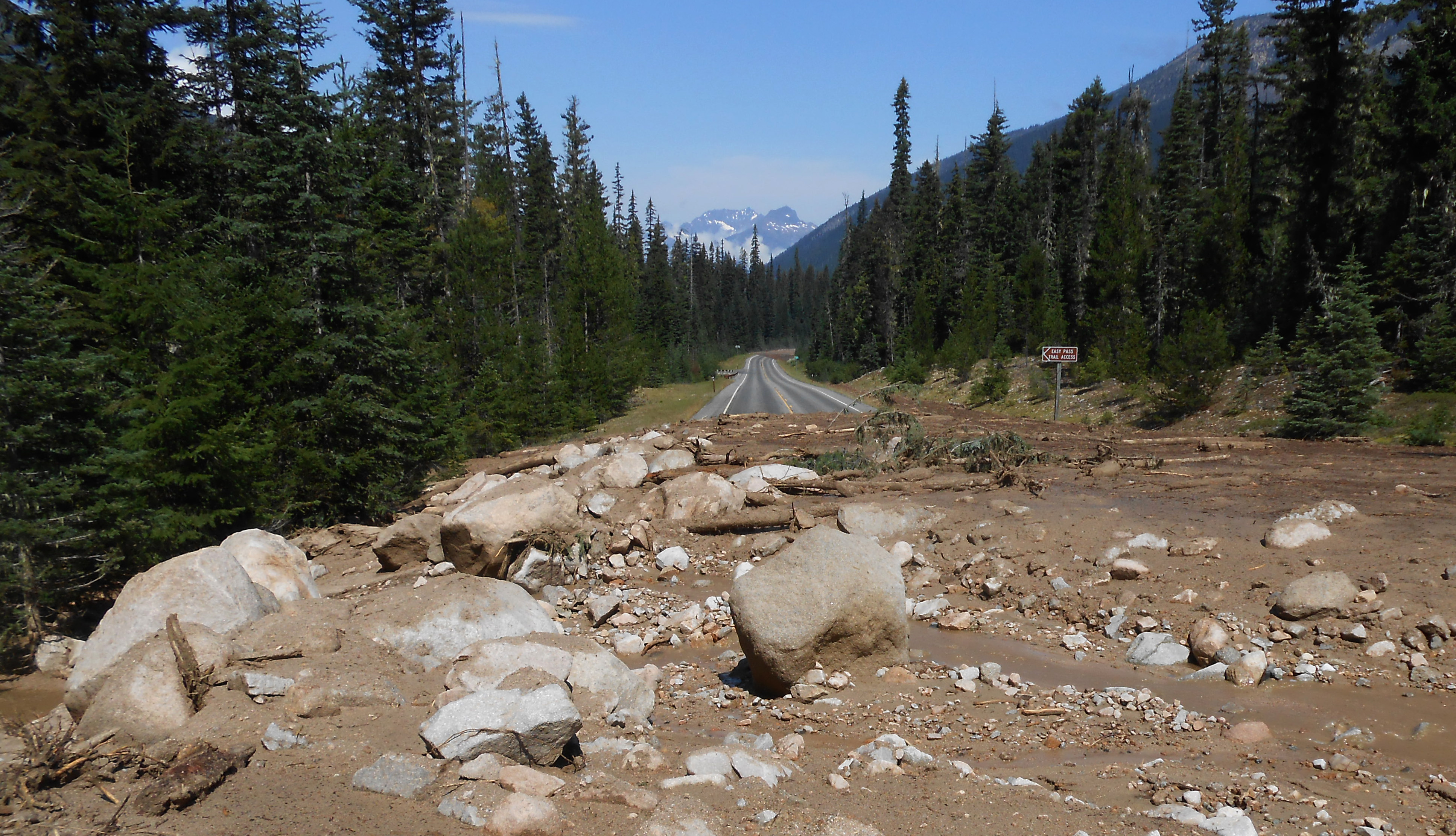 Sales down after mudslides on North Cascades Highway | The Spokesman