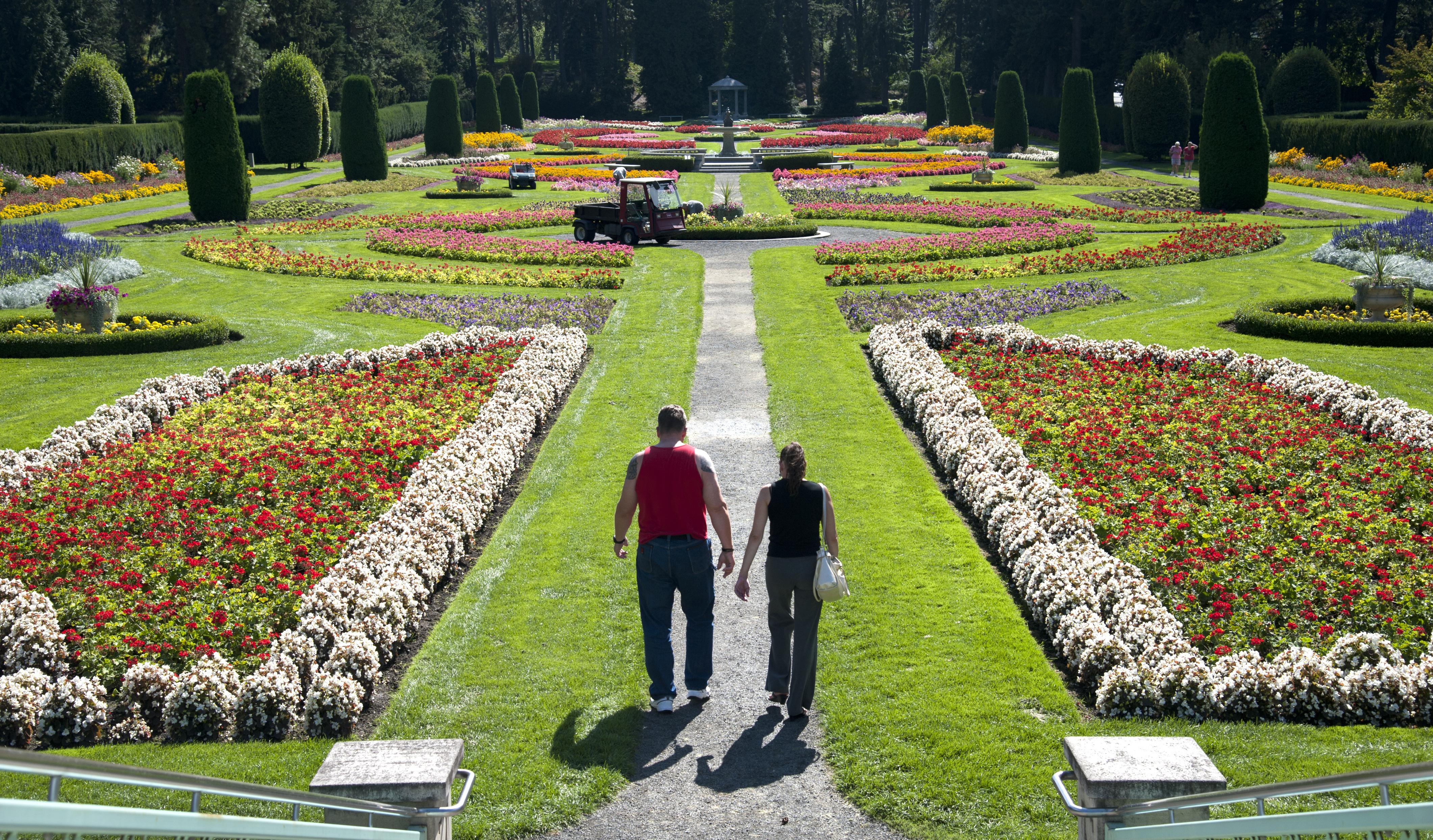 Duncan Gardens Manito Park Garden Ftempo