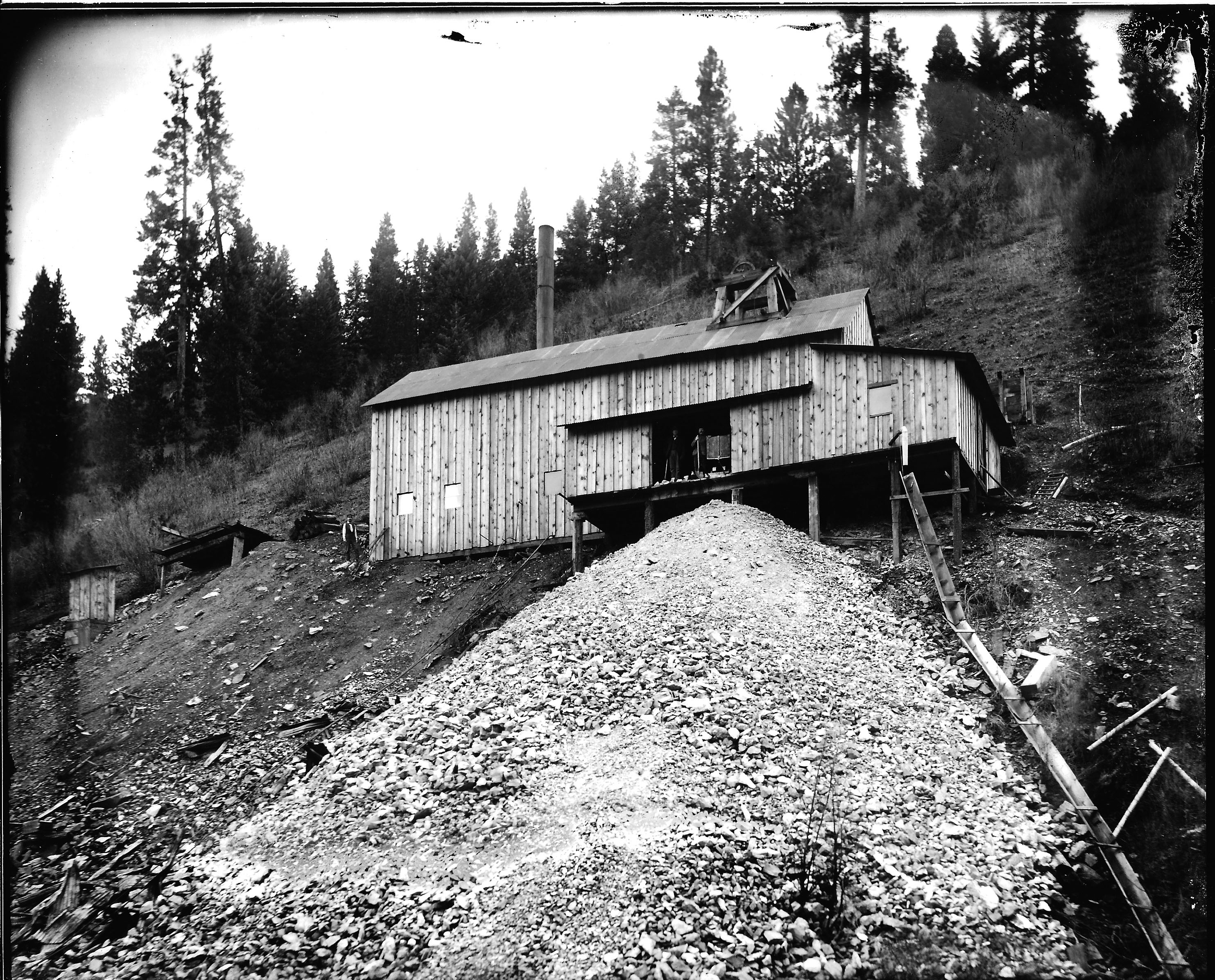 Work underway to close abandoned North Idaho mine shaft | The