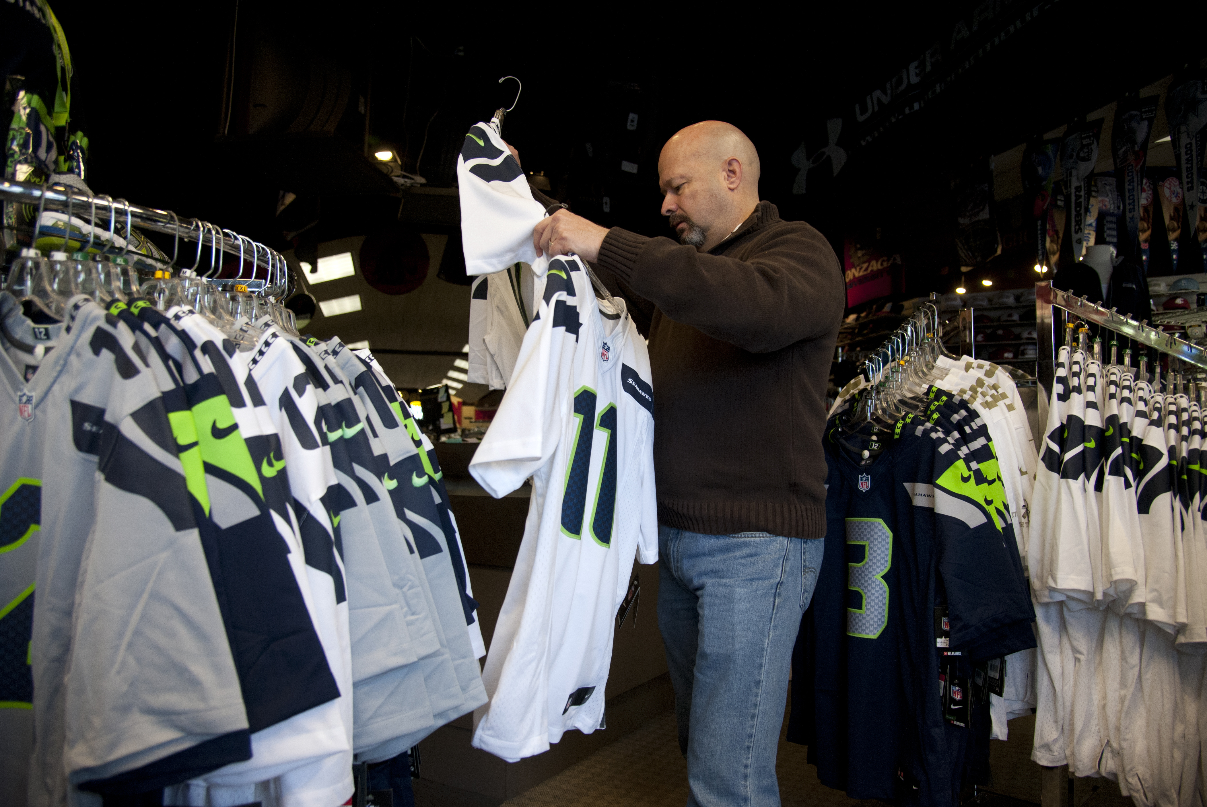 reputable site f3a32 068b8 Seahawks in Super Bowl would be big score for business | The ...