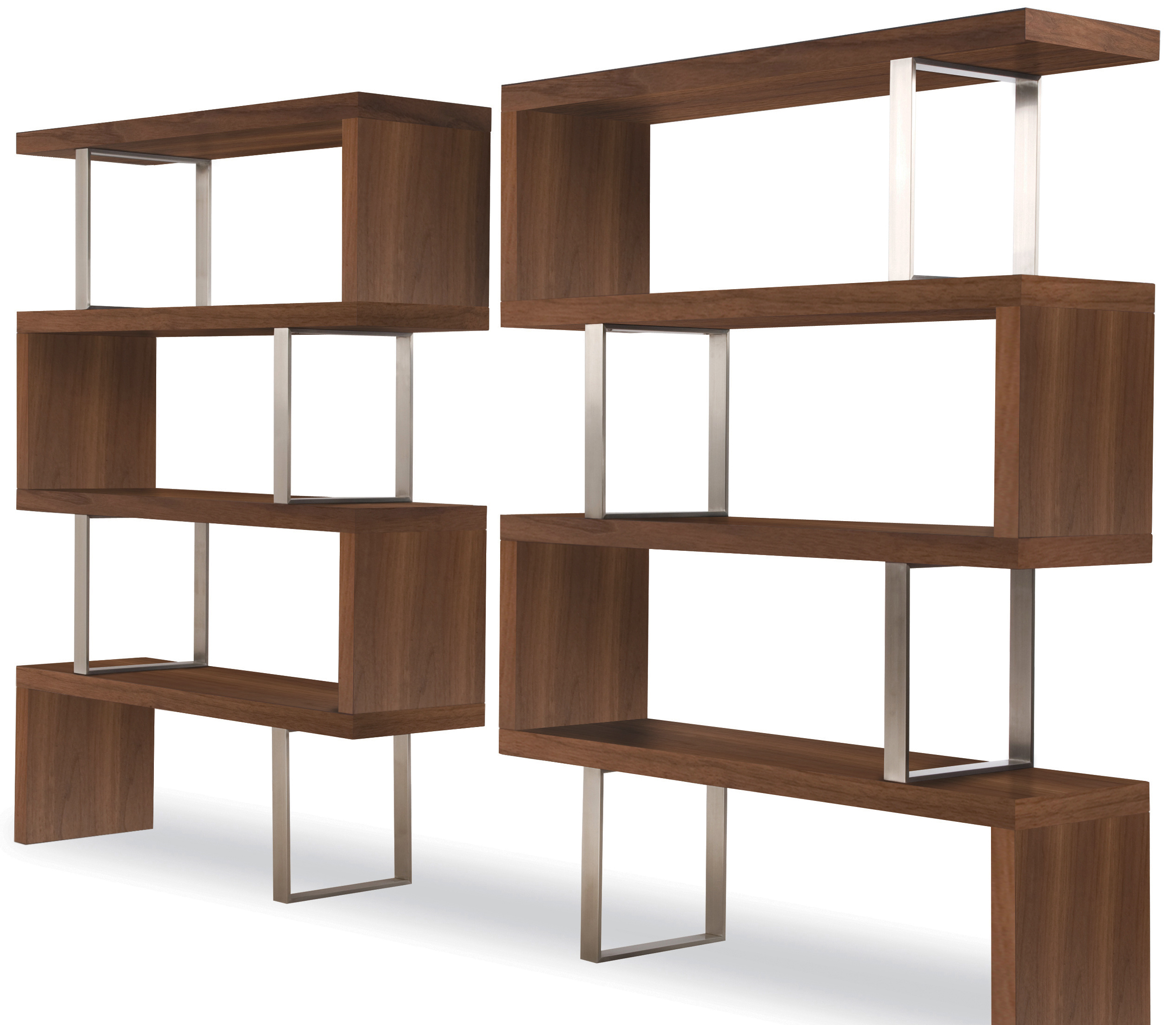 america silvens contemporary furniture free home bookcases garden bookcase of product overstock display cabinet walnut today shipping shelf open
