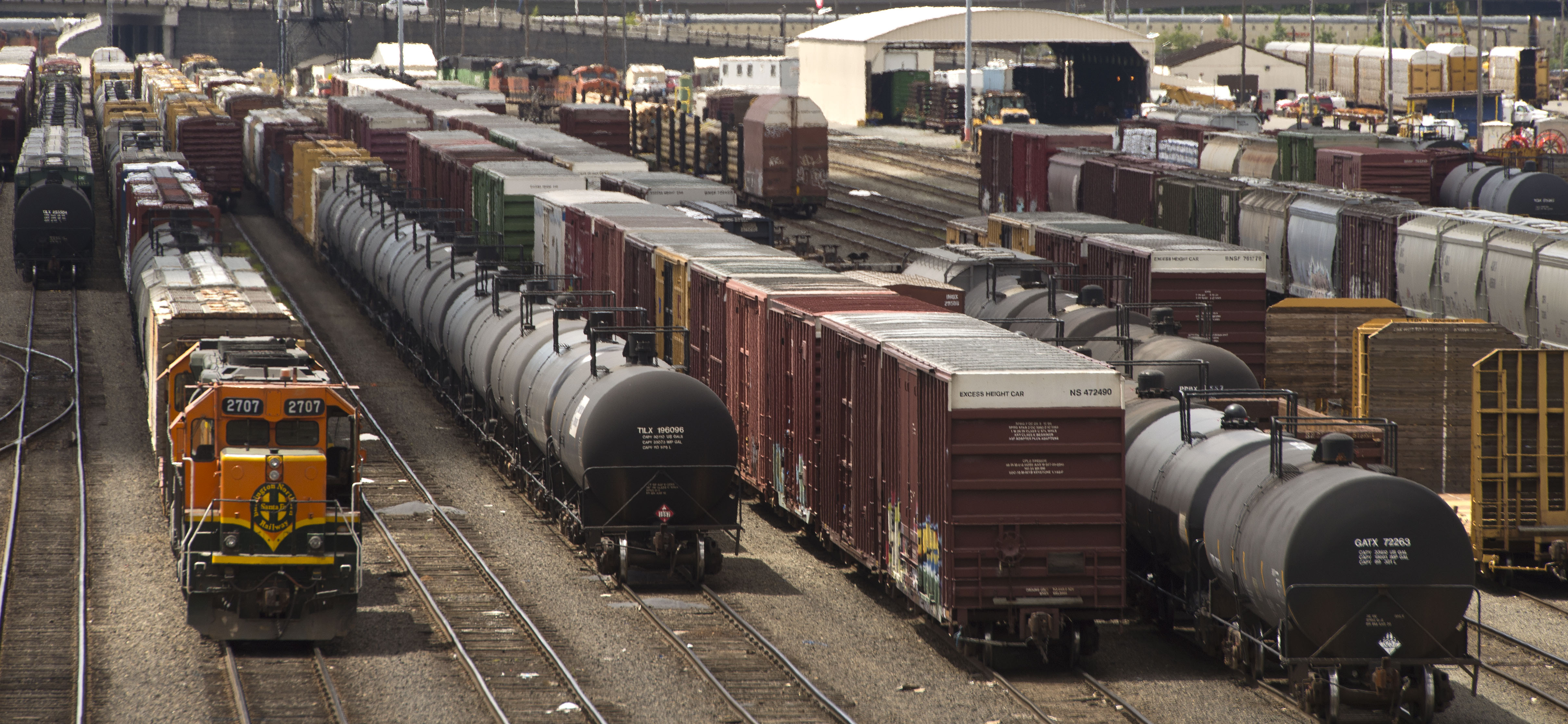 Oil, coal trains, concerns likely to increase | The Spokesman-Review