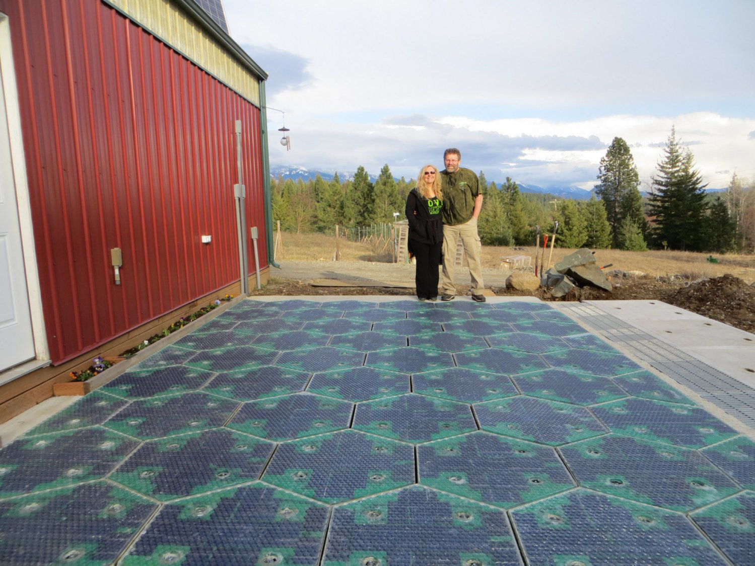 Sandpoint Innovators Solar Road Panels Remove Snow
