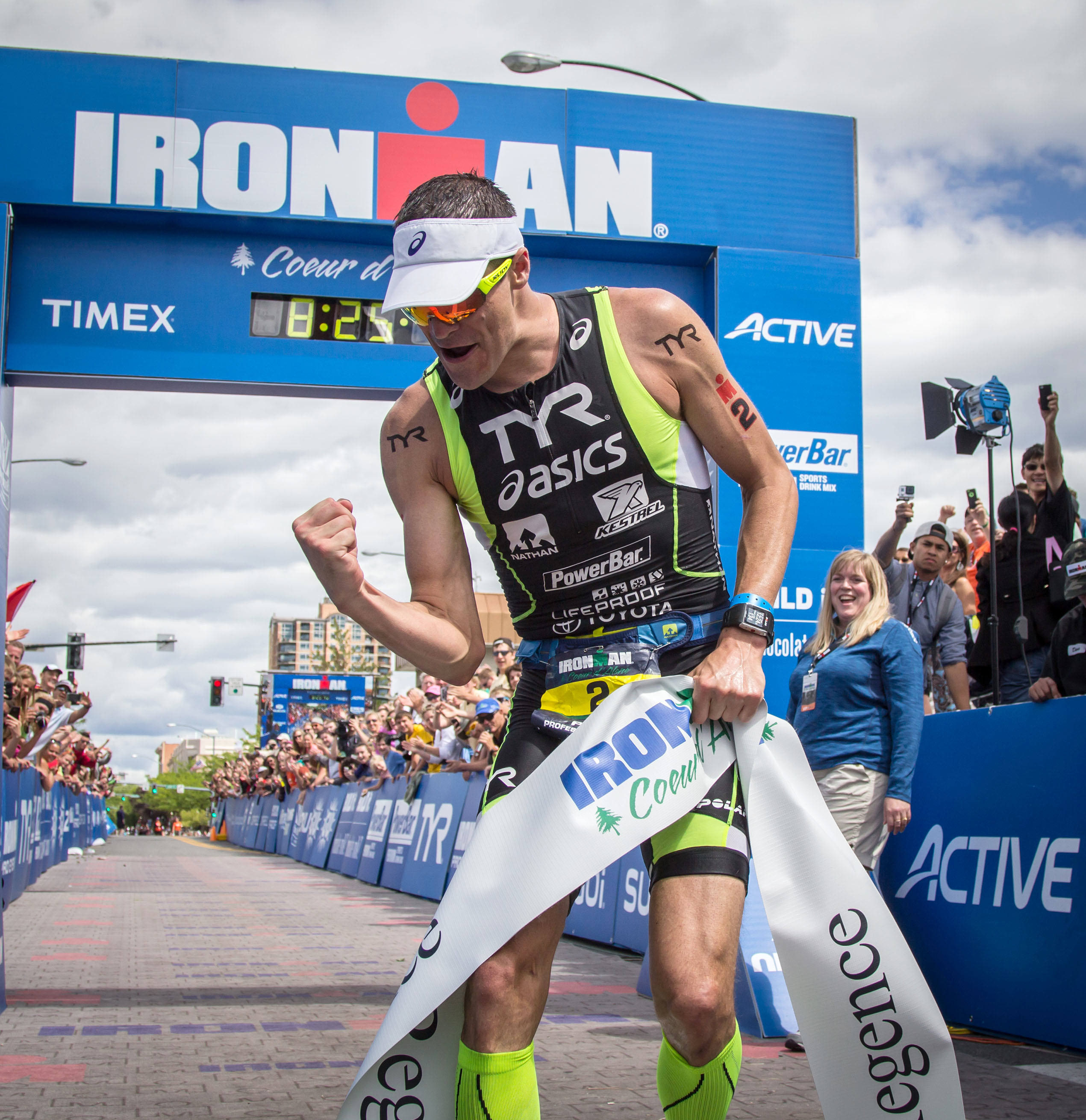 Andy Potts, Heather Wurtele win Ironman Coeur d'Alene | The