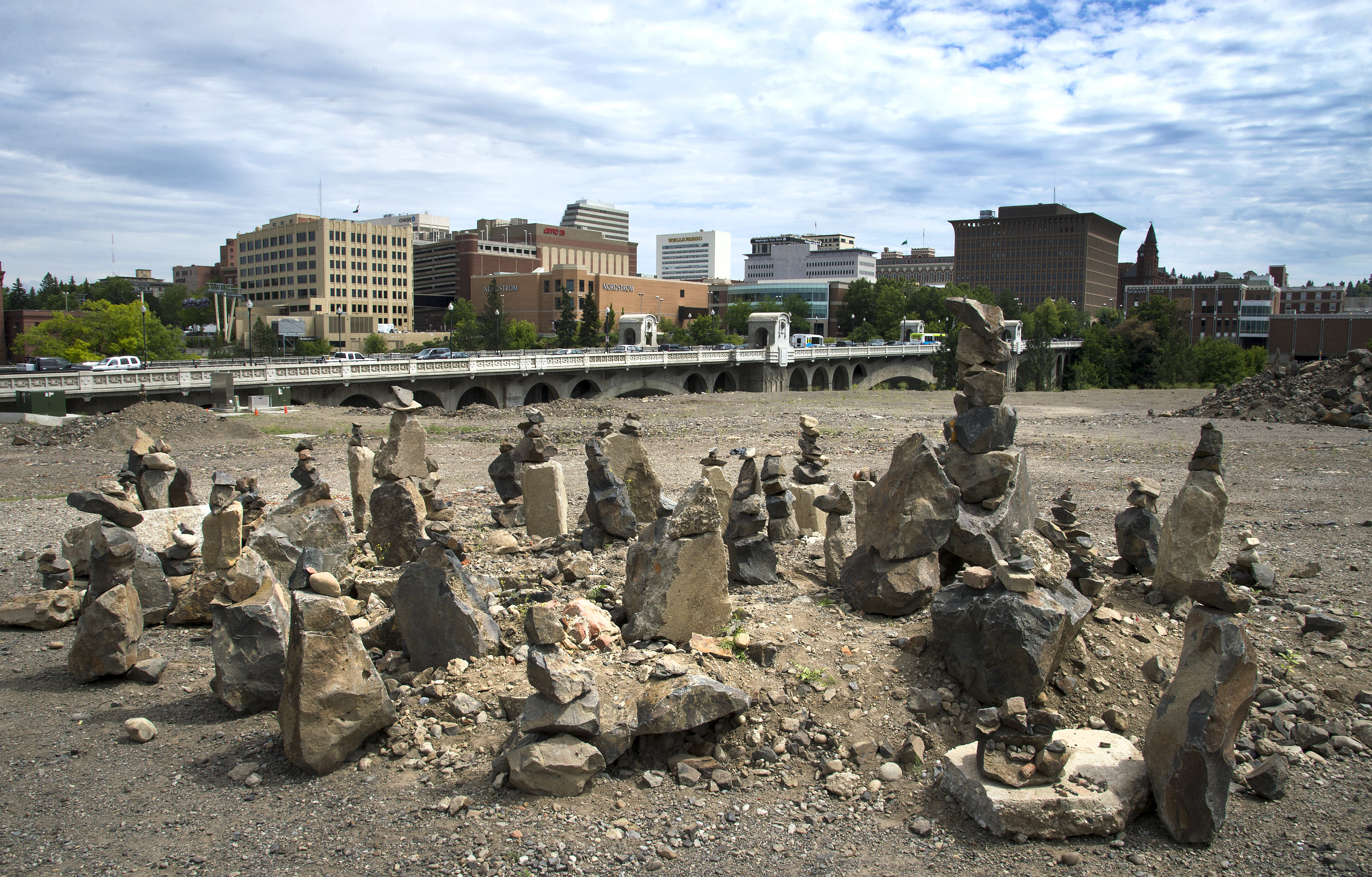 Rock Stacks Appear In Kendall Yards The Spokesman Review