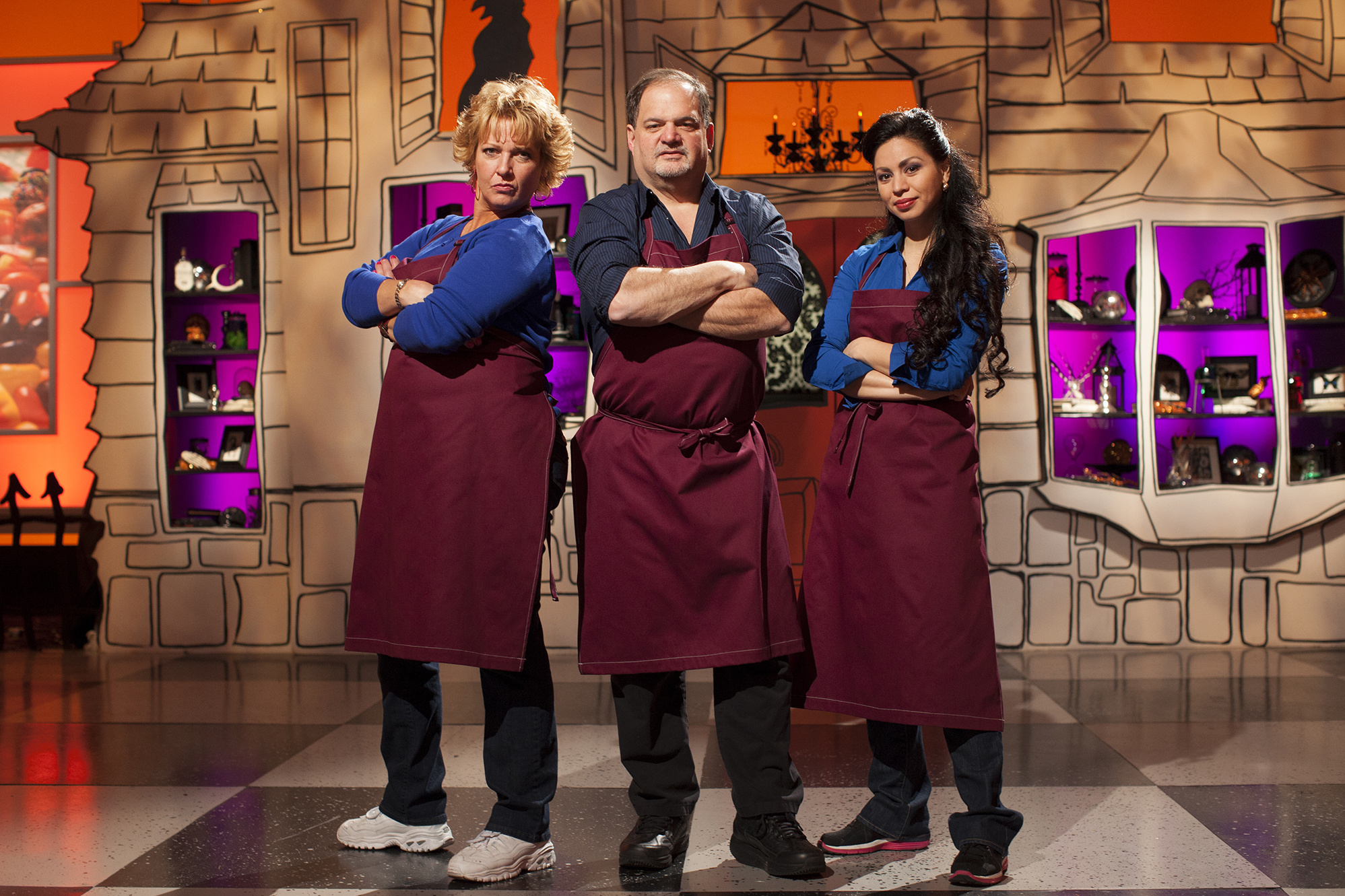 spokane community college culinary arts instructor bob lombardi competes on the season four premiere of food