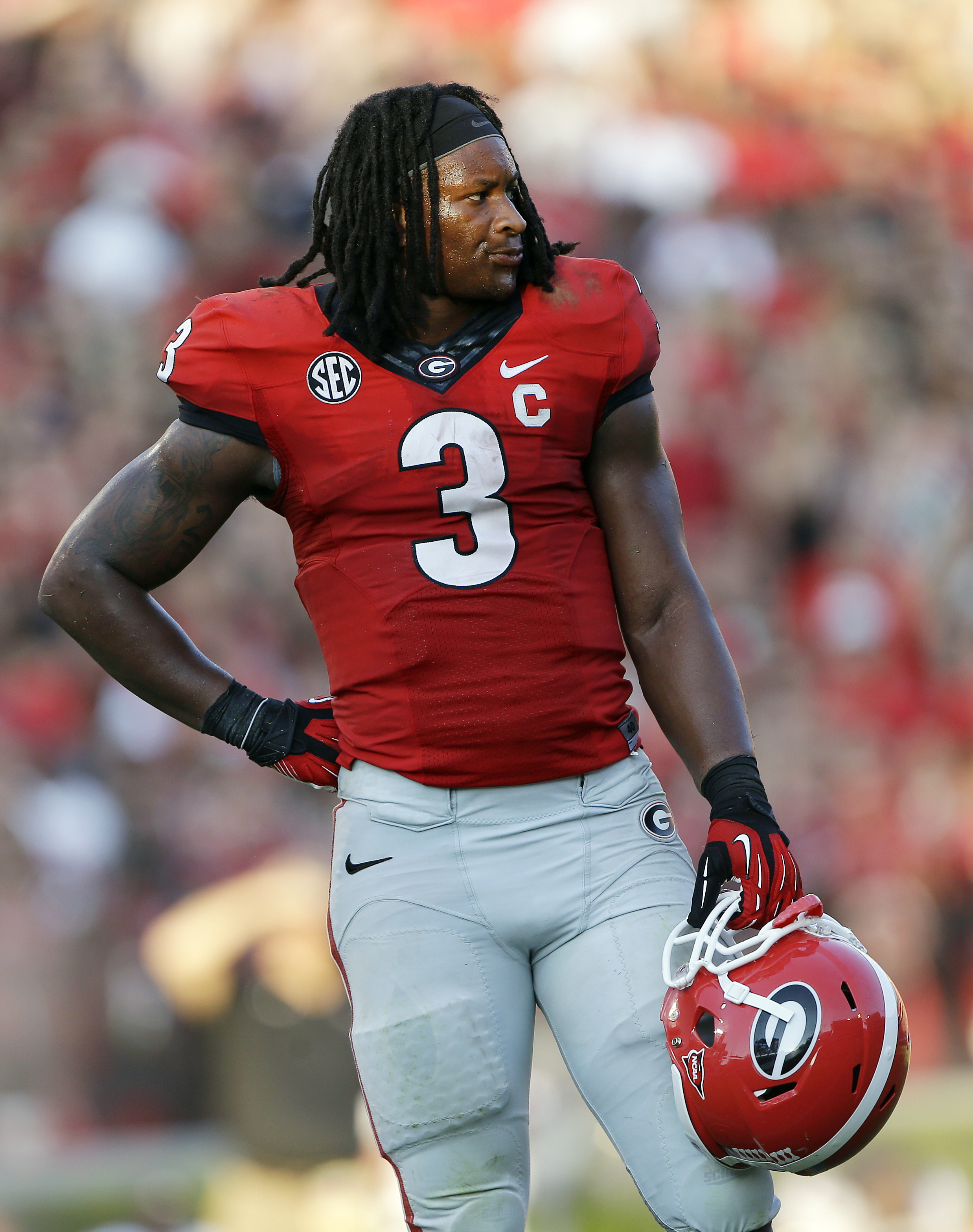 sports shoes 7aeb0 2c19f No. 13 Georgia suspends RB Todd Gurley indefinitely | The ...