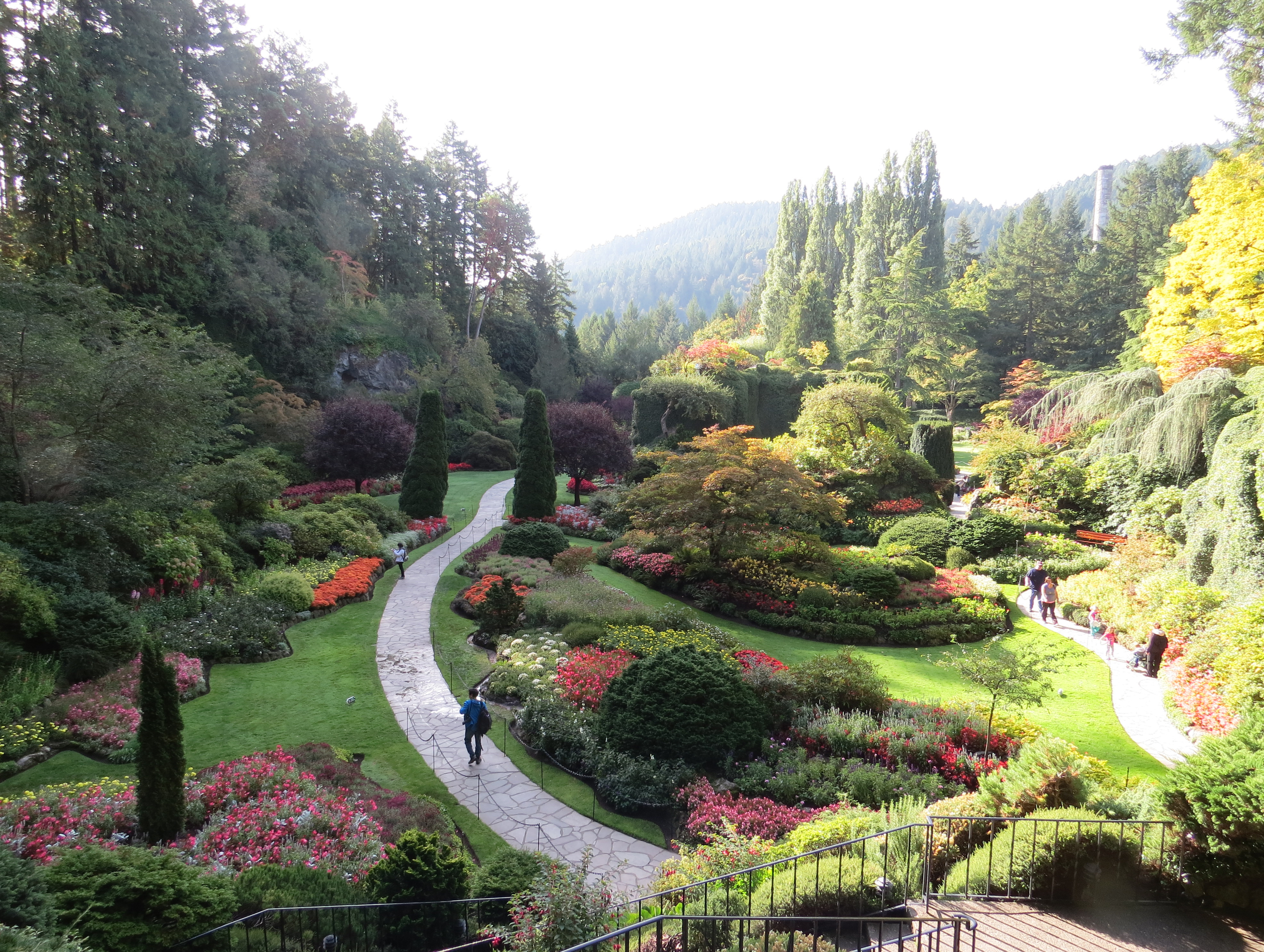 Victoria S Butchart Gardens Dazzle In Any Season The Spokesman