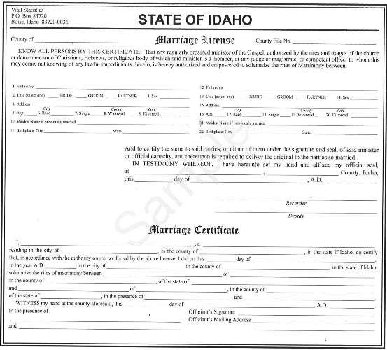 idaho updates marriage licenses | the spokesman-review