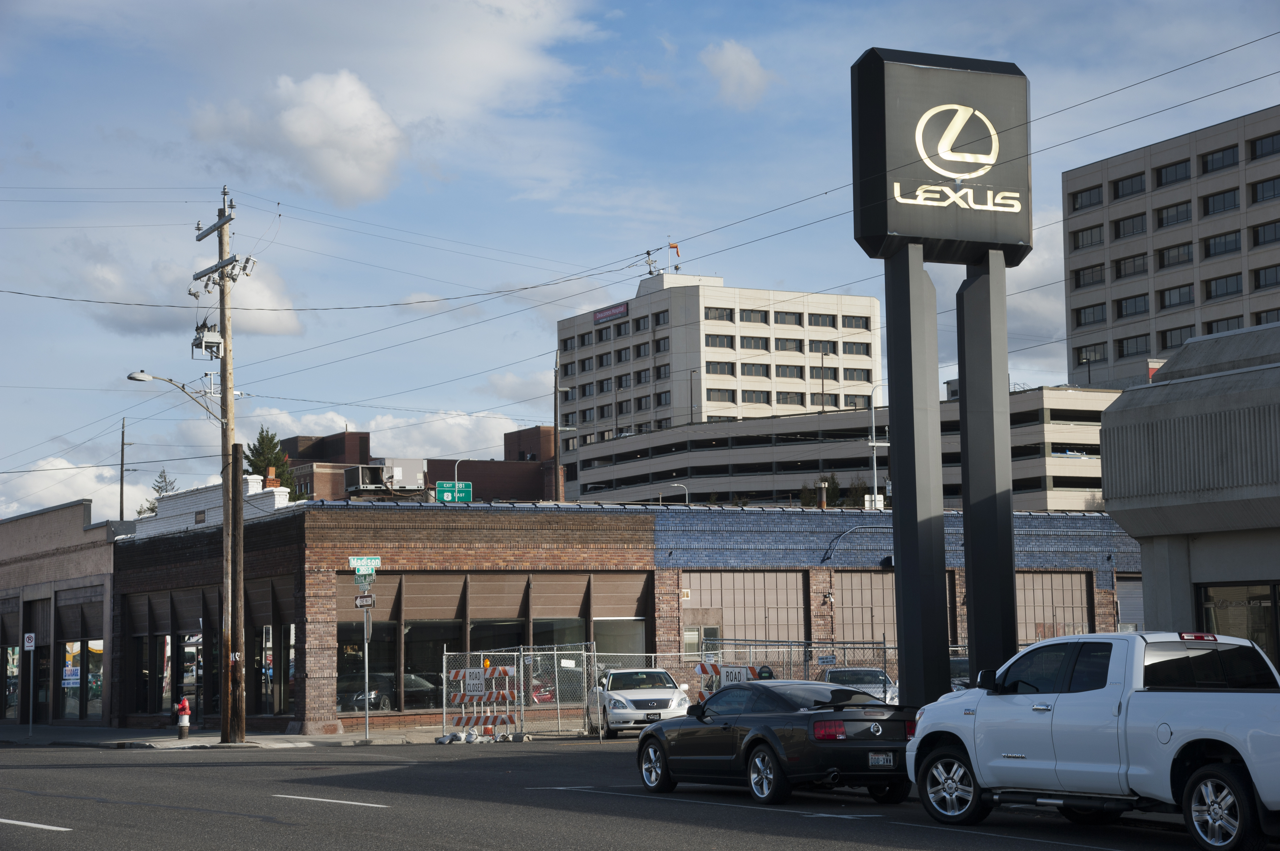 A Plan To Expand The Larry H. Miller Lexus Dealership Downtown Requires  Demolition Of Two