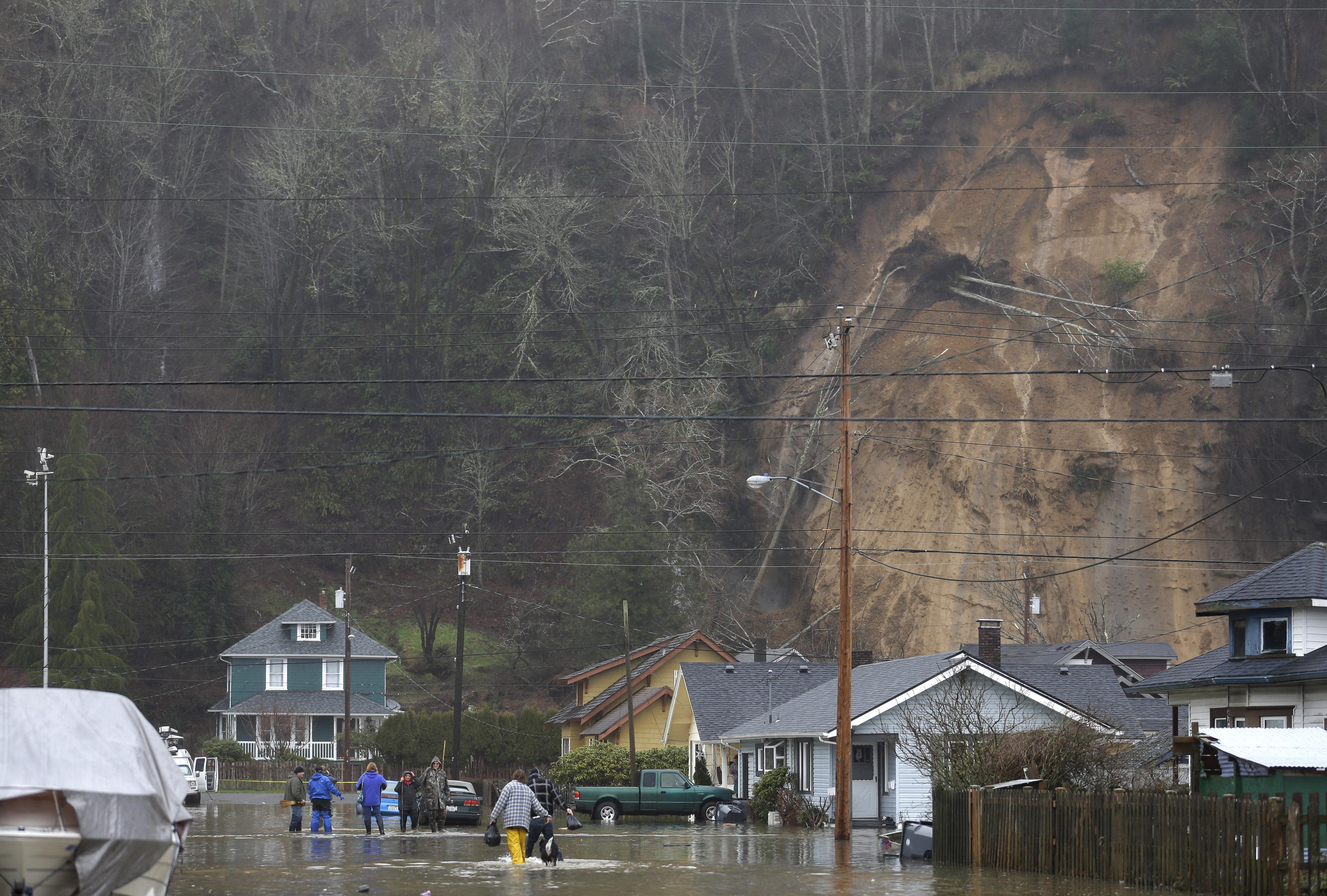 Flooding Evacuations Follow Heavy Rain On West Side The