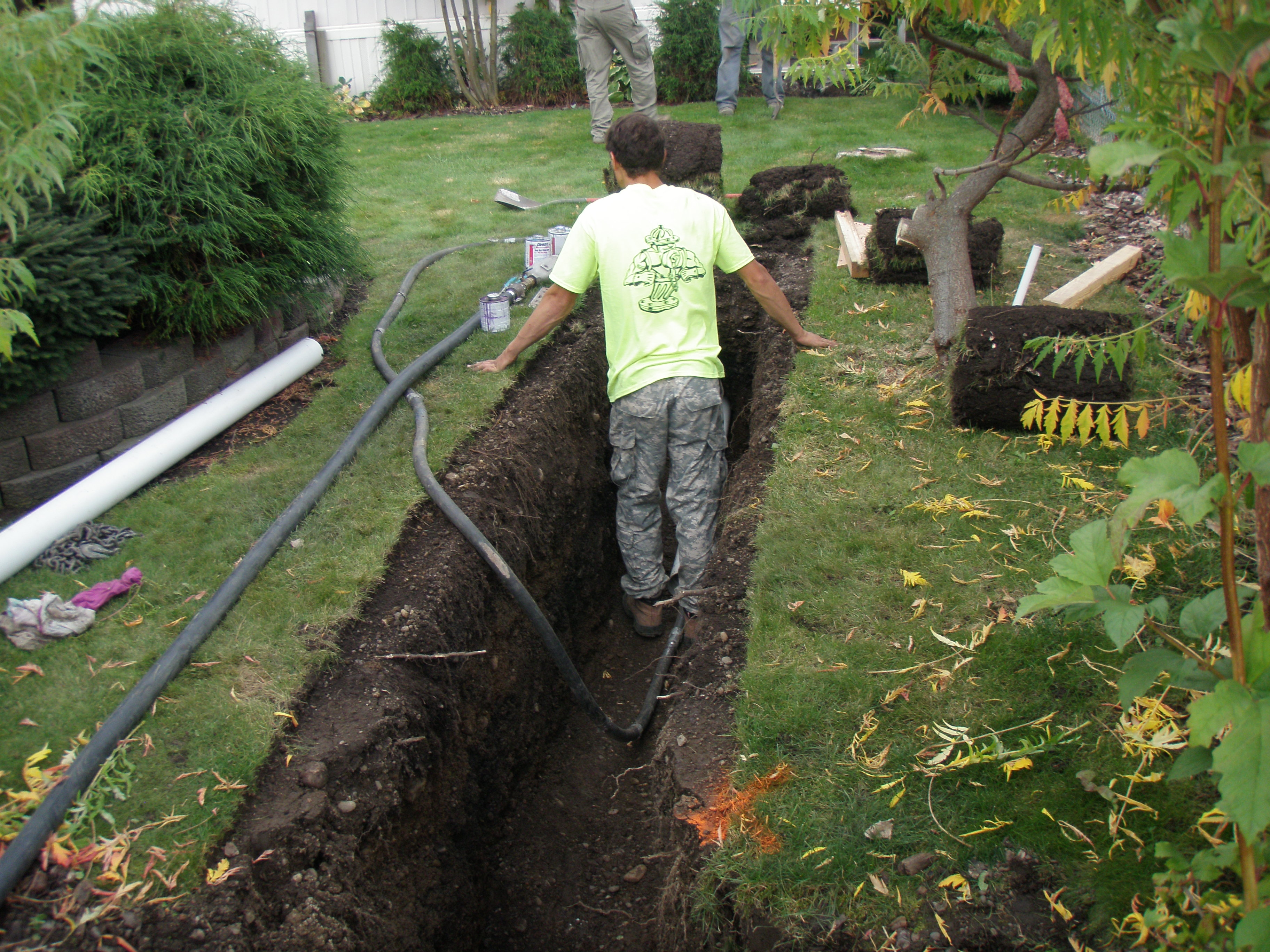 Pipe Bursting & Sewer Re-Line