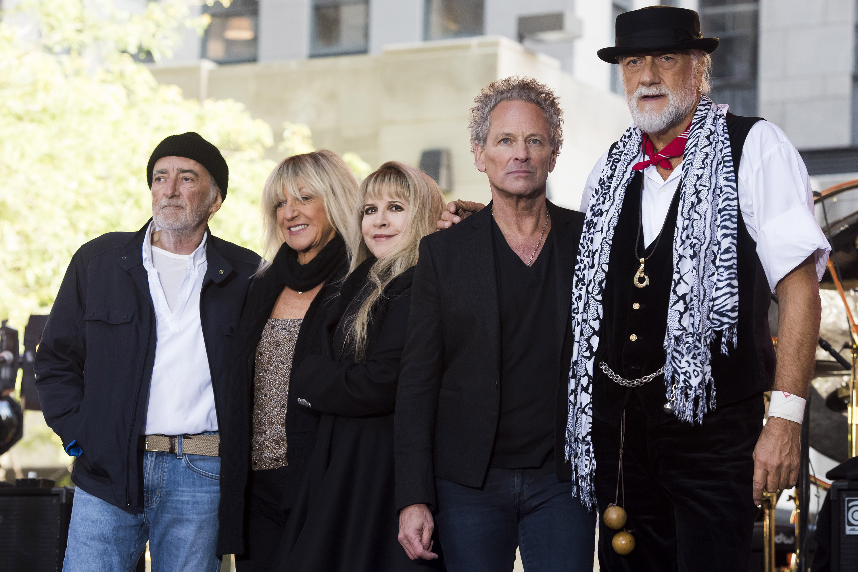 People: Fleetwood Mac show ends early when drummer falls ill