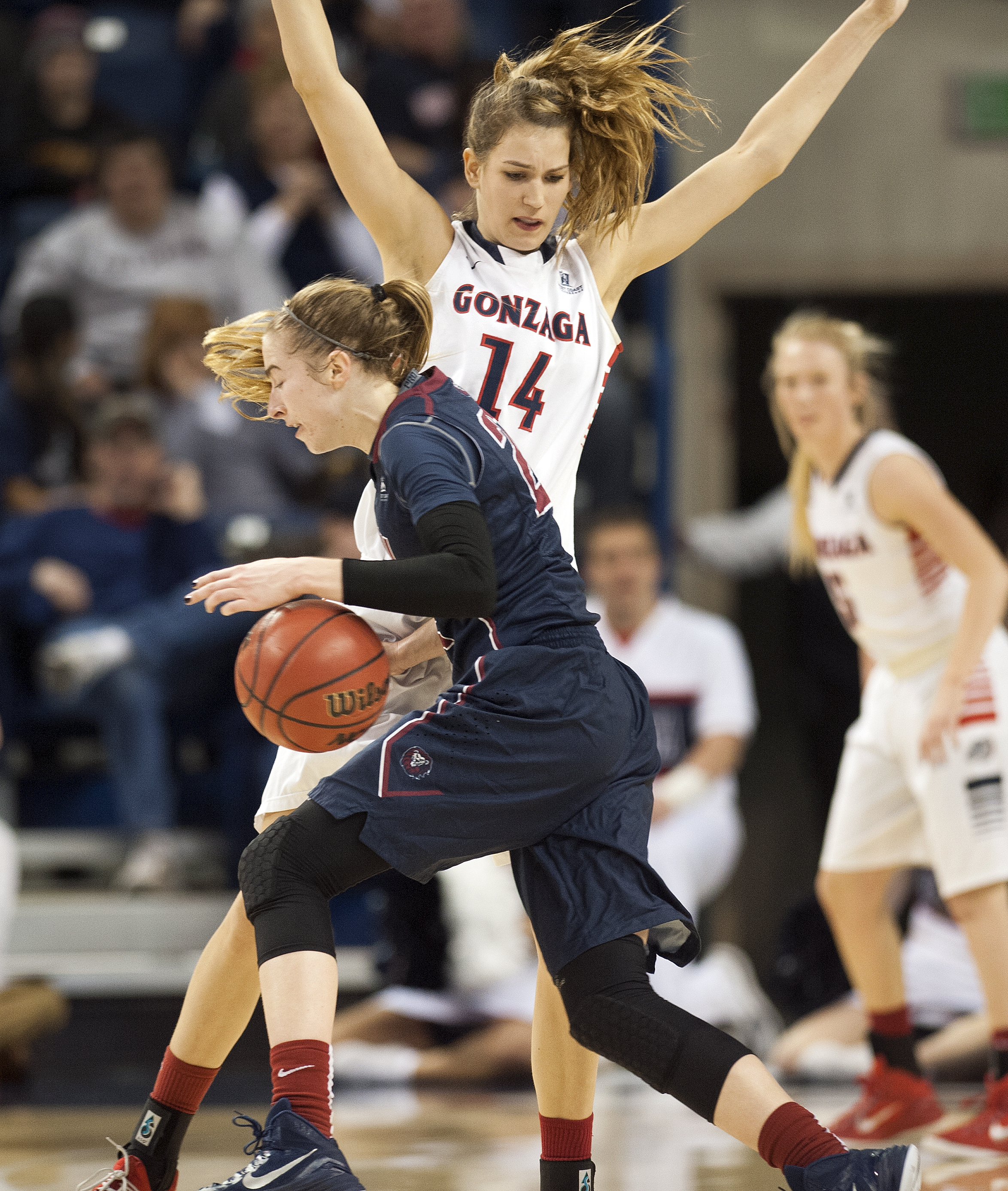 Q & A with Gonzaga women's basketball player Sunny ...