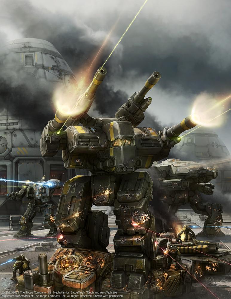 How about BattleTech?   The Spokesman-Review
