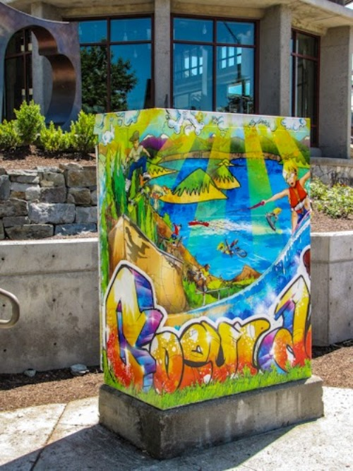 Wanted Lake City Utility Box Artists The Spokesman Review