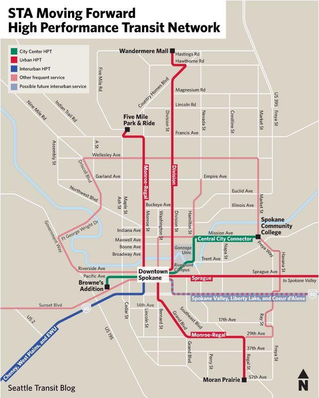 Seattle Transit Blog discusses STA's high performance transit plan