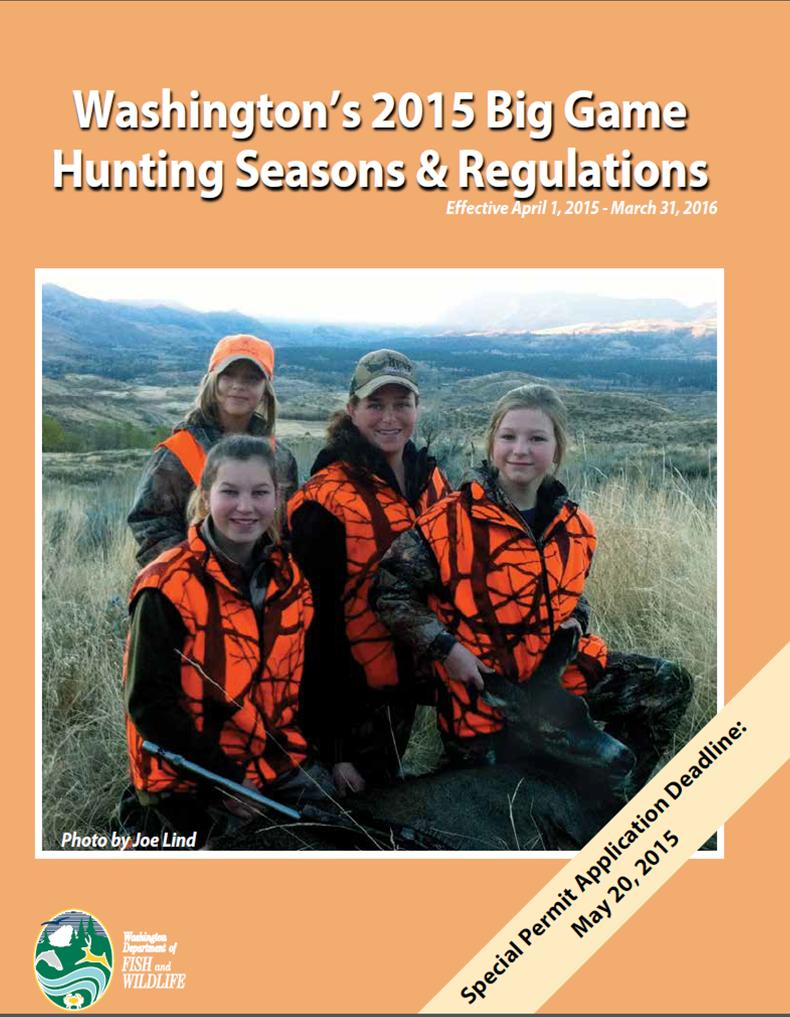Do hunting dads love sons more than daughters the for Washington fishing regulations