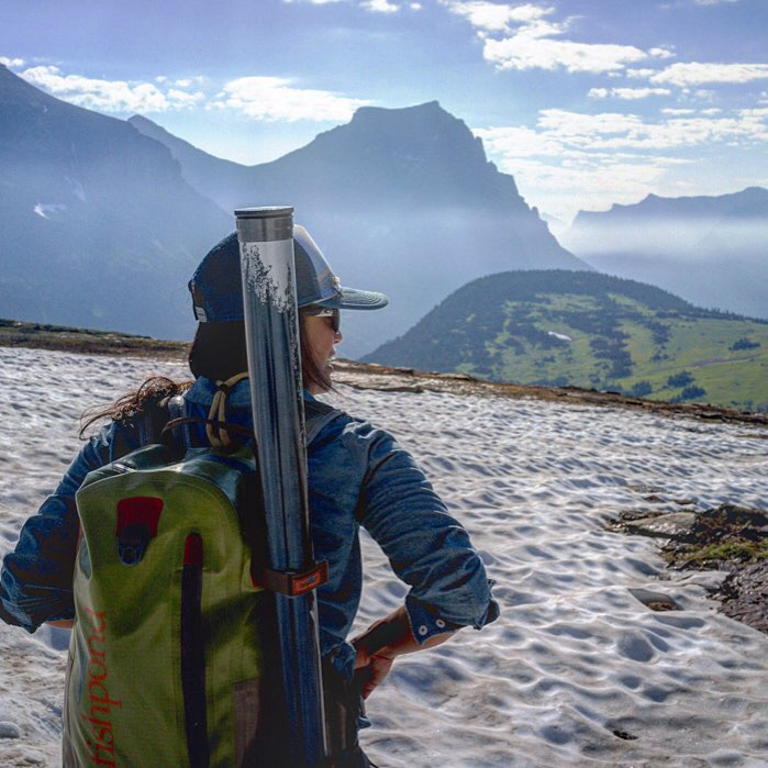 Glacier offers cool fishing alternative the spokesman review for Fly fishing glacier national park