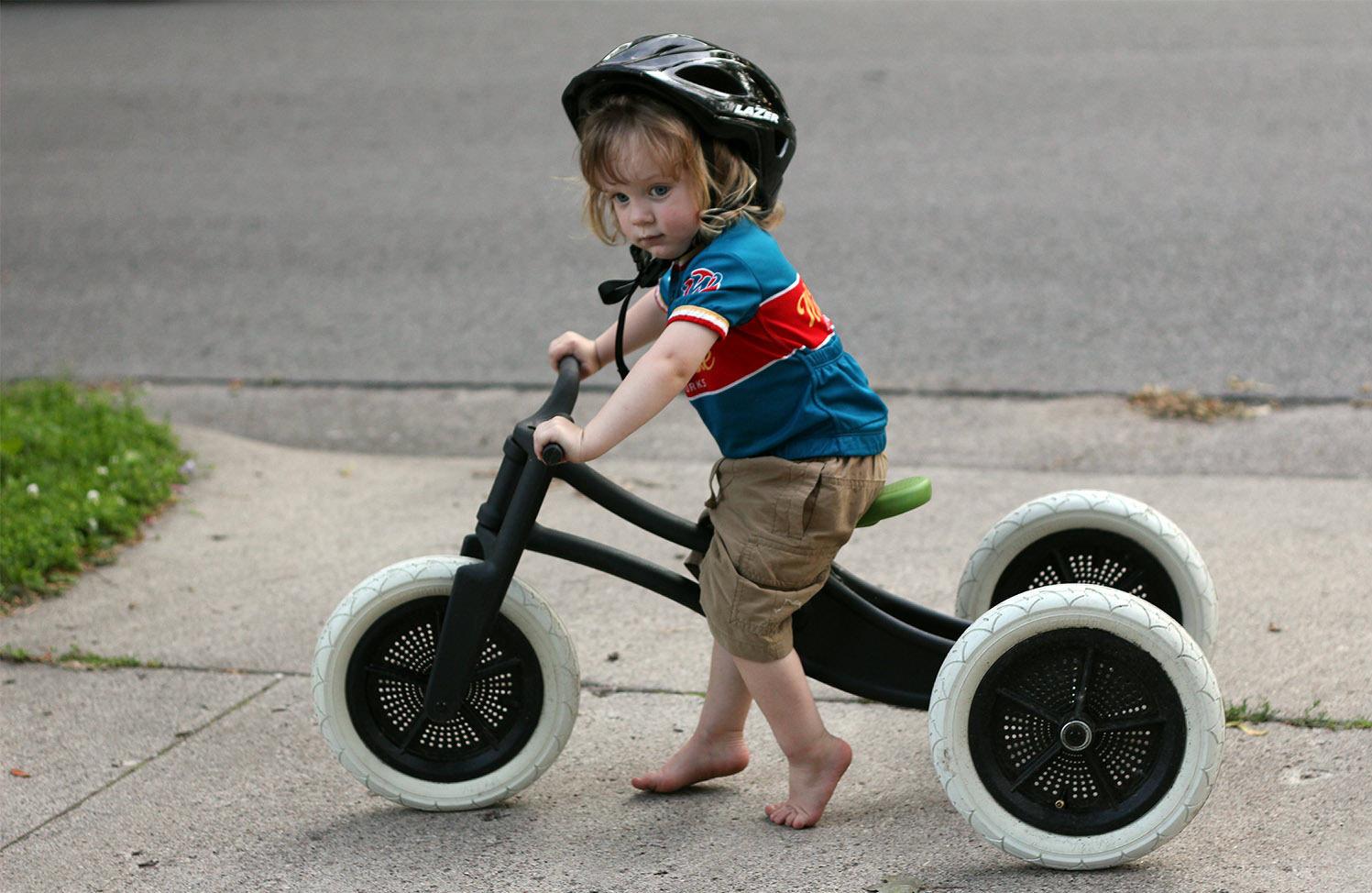 The Yuba Balance Trainer Bicycle A Push Bike Without Drivetrain Allows