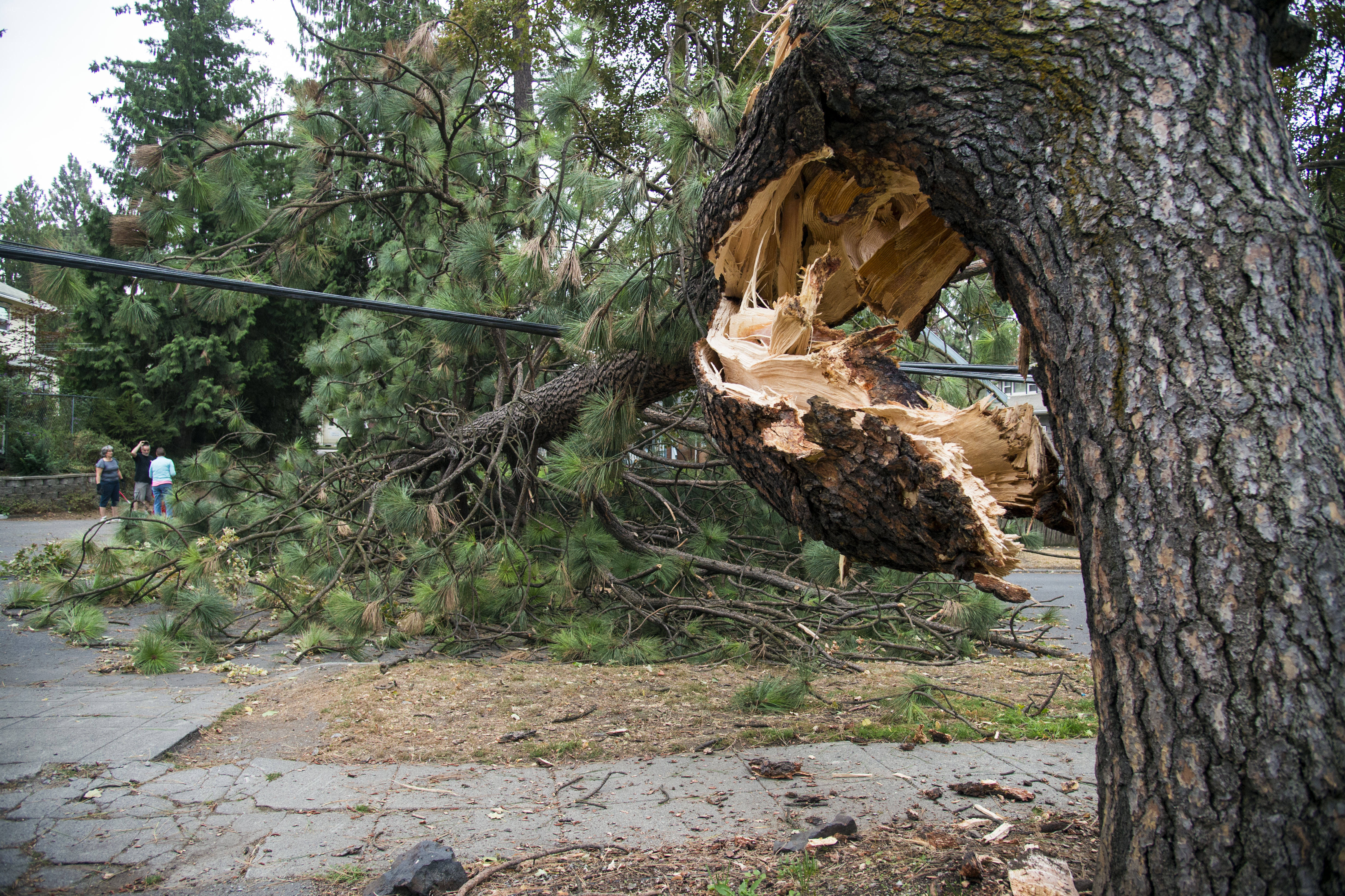 High winds fan flames, cause power outages | The Spokesman-Review