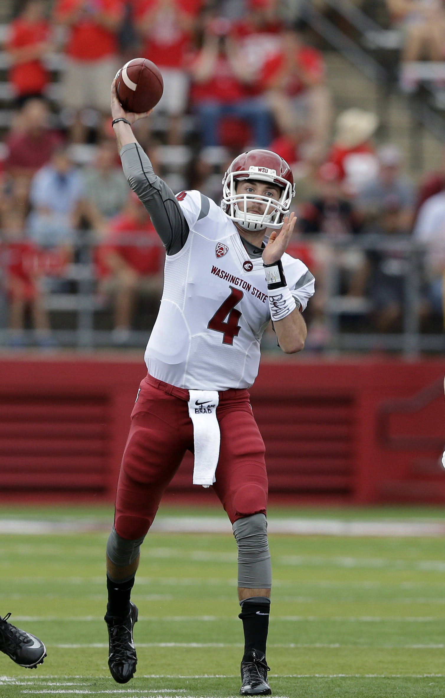 Pac-12 honors WSU's Luke Falk for coolness in game-winning ...