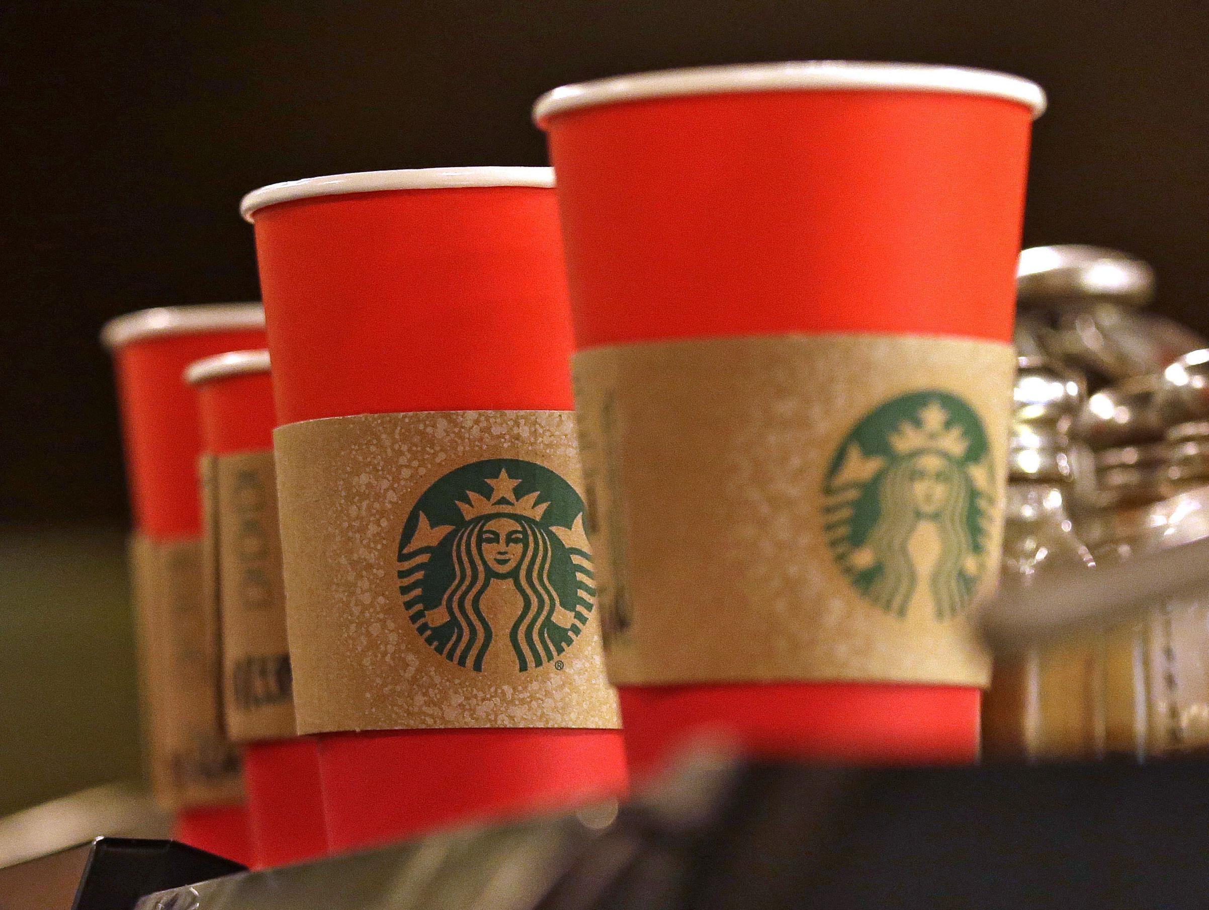 War on Christmas? Starbucks cups cause social media outcry | The ...