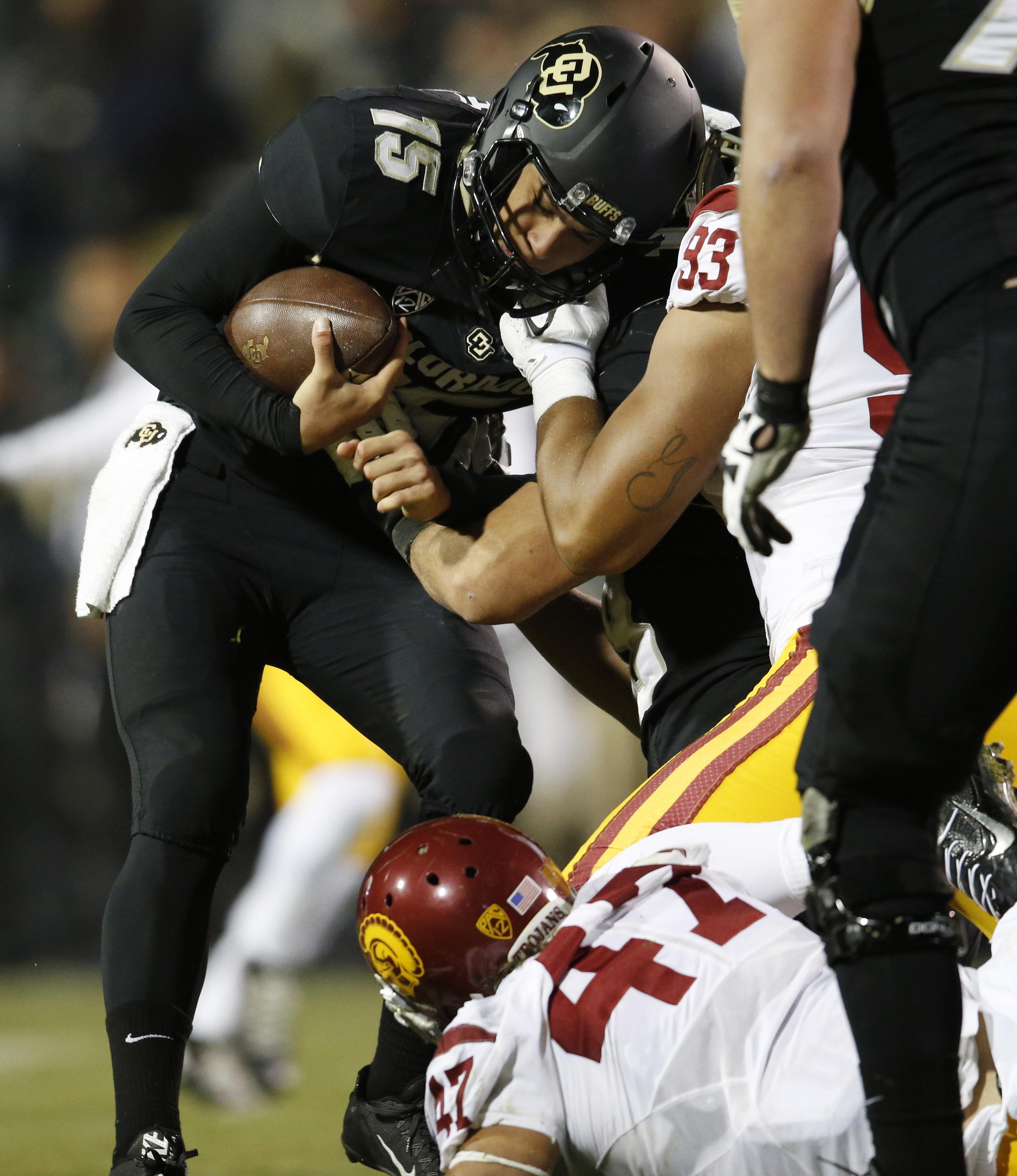 Buffaloes' Redshirt Freshman Quarterback Cade Apsay A