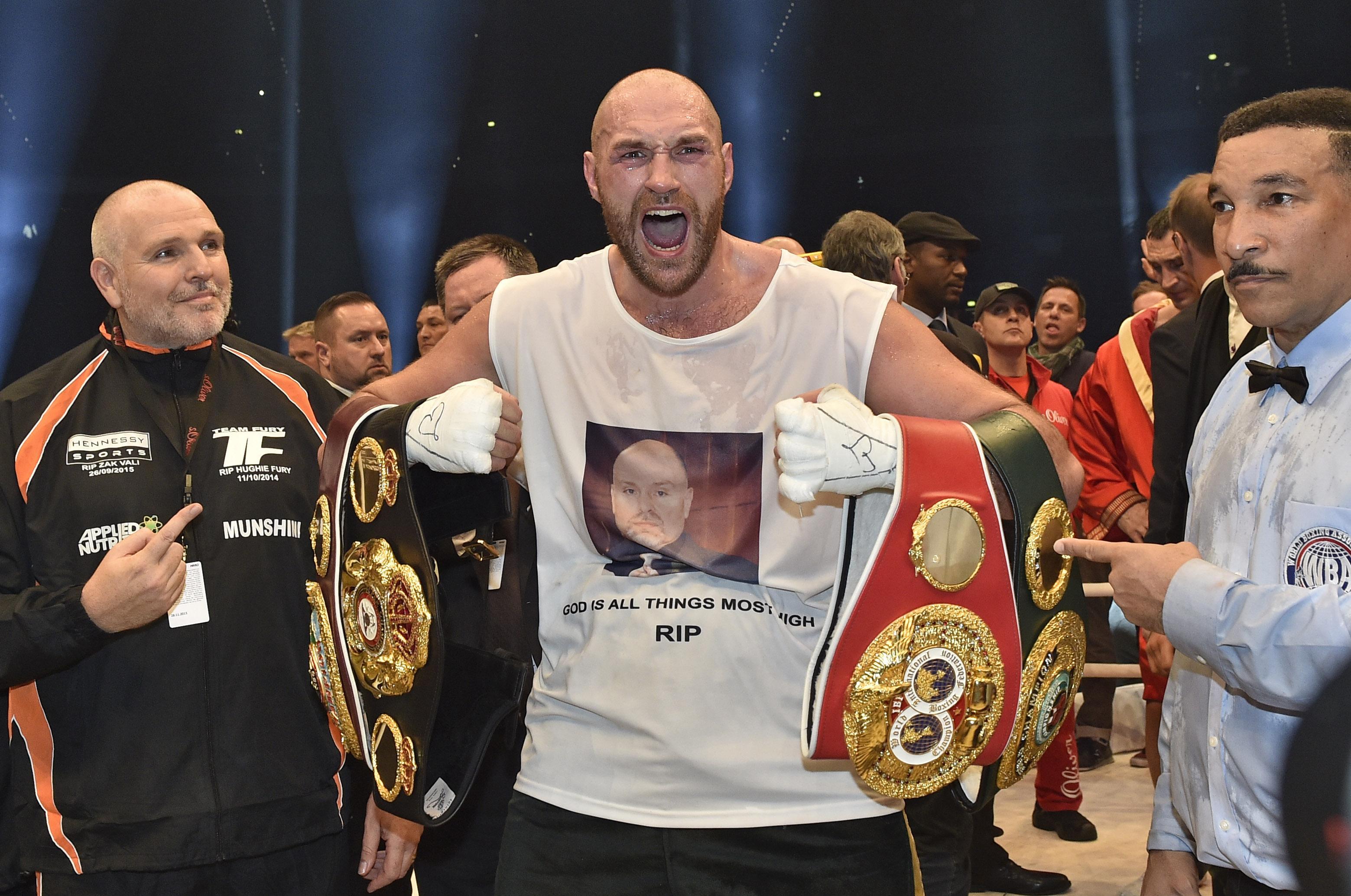 Tyson Fury ends Wladimir Klitschko's heavyweight reign | The