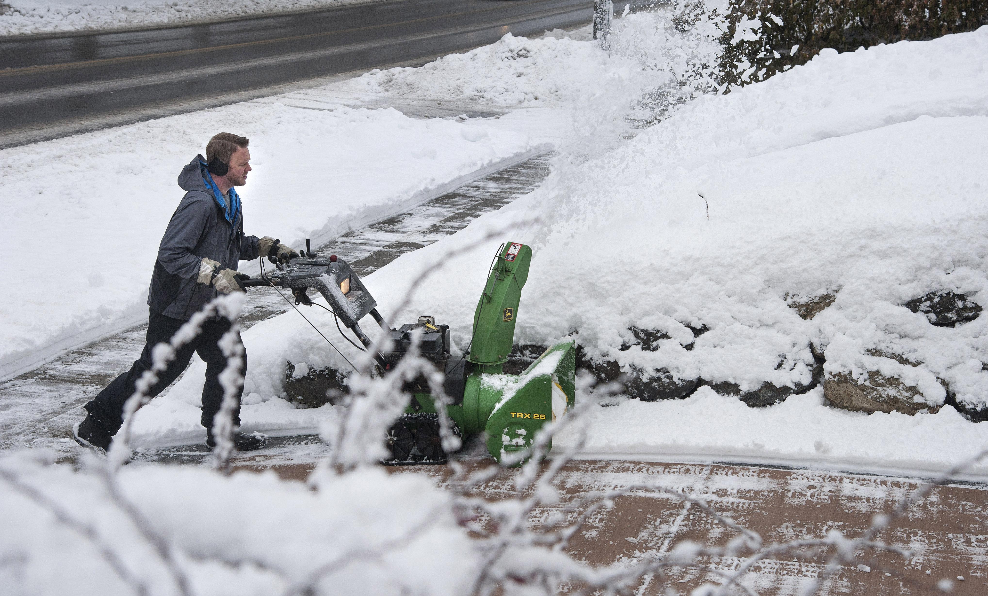Snowfall winding down as Christmas arrives   The Spokesman-Review