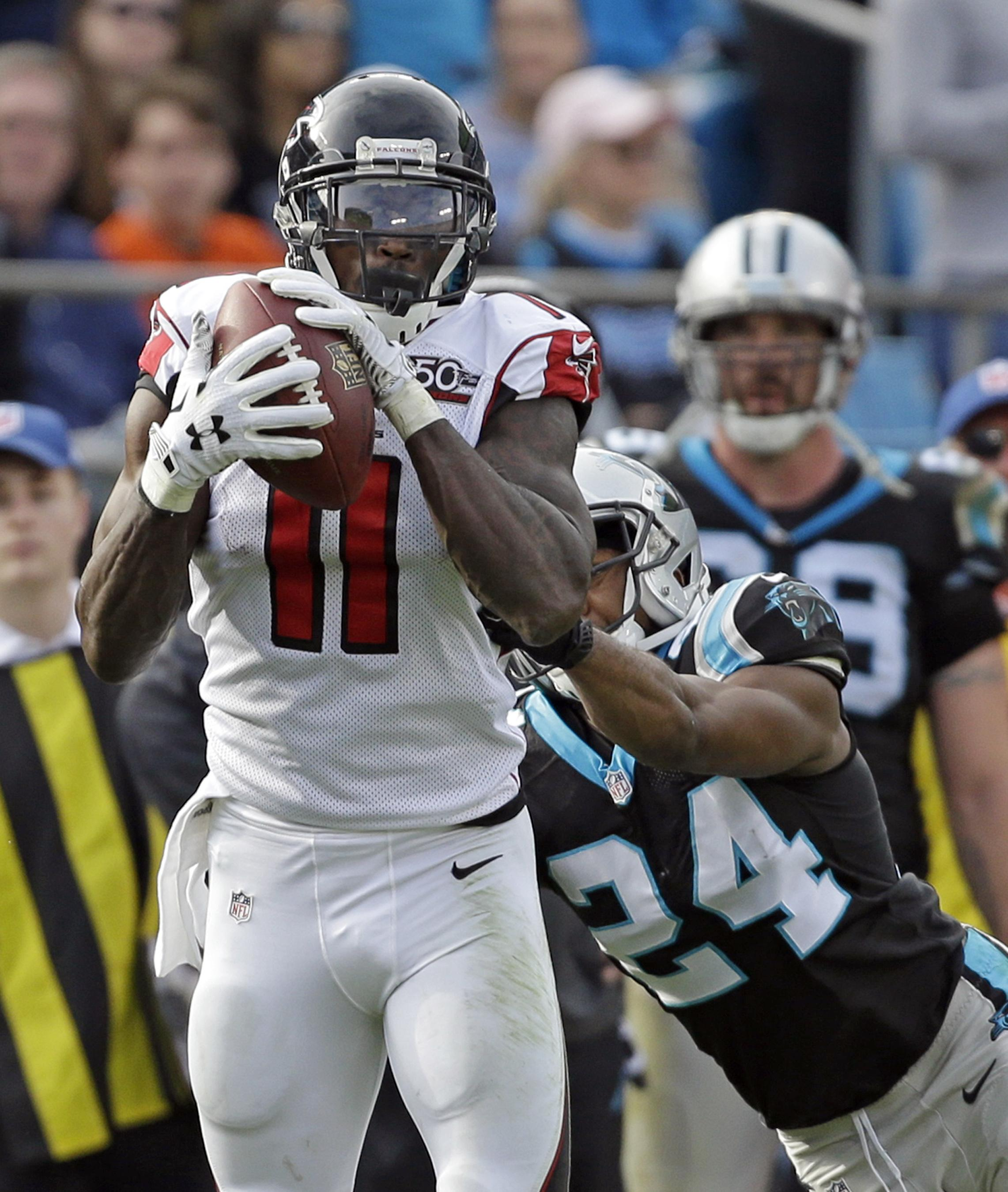 Atlanta Falcons Receiver Julio Jones Has An Outside Shot Of Setting NFL Record For Receptions