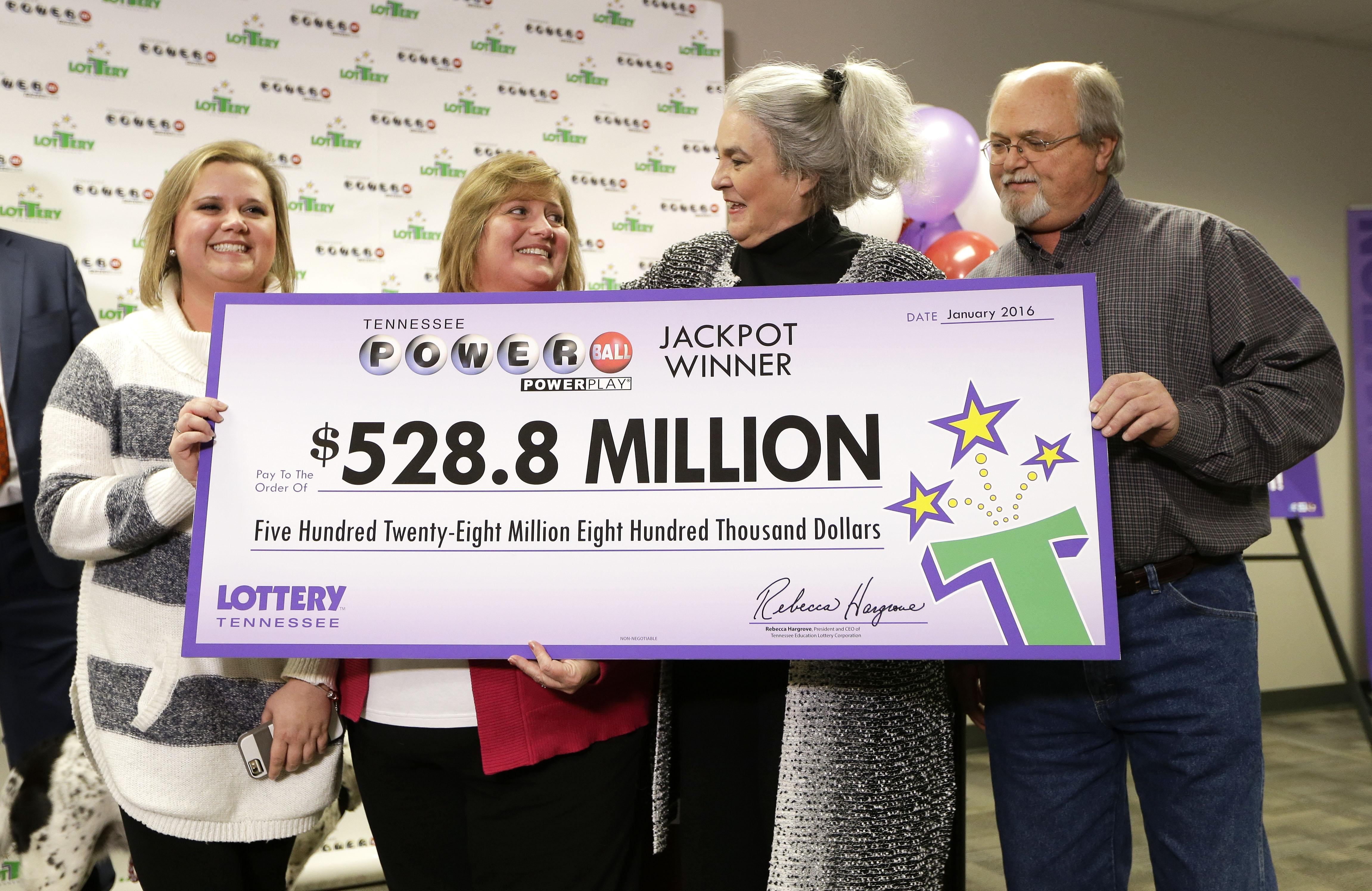 Tennessee Couple Say They Won Powerball, Wife Takes Day Off Work